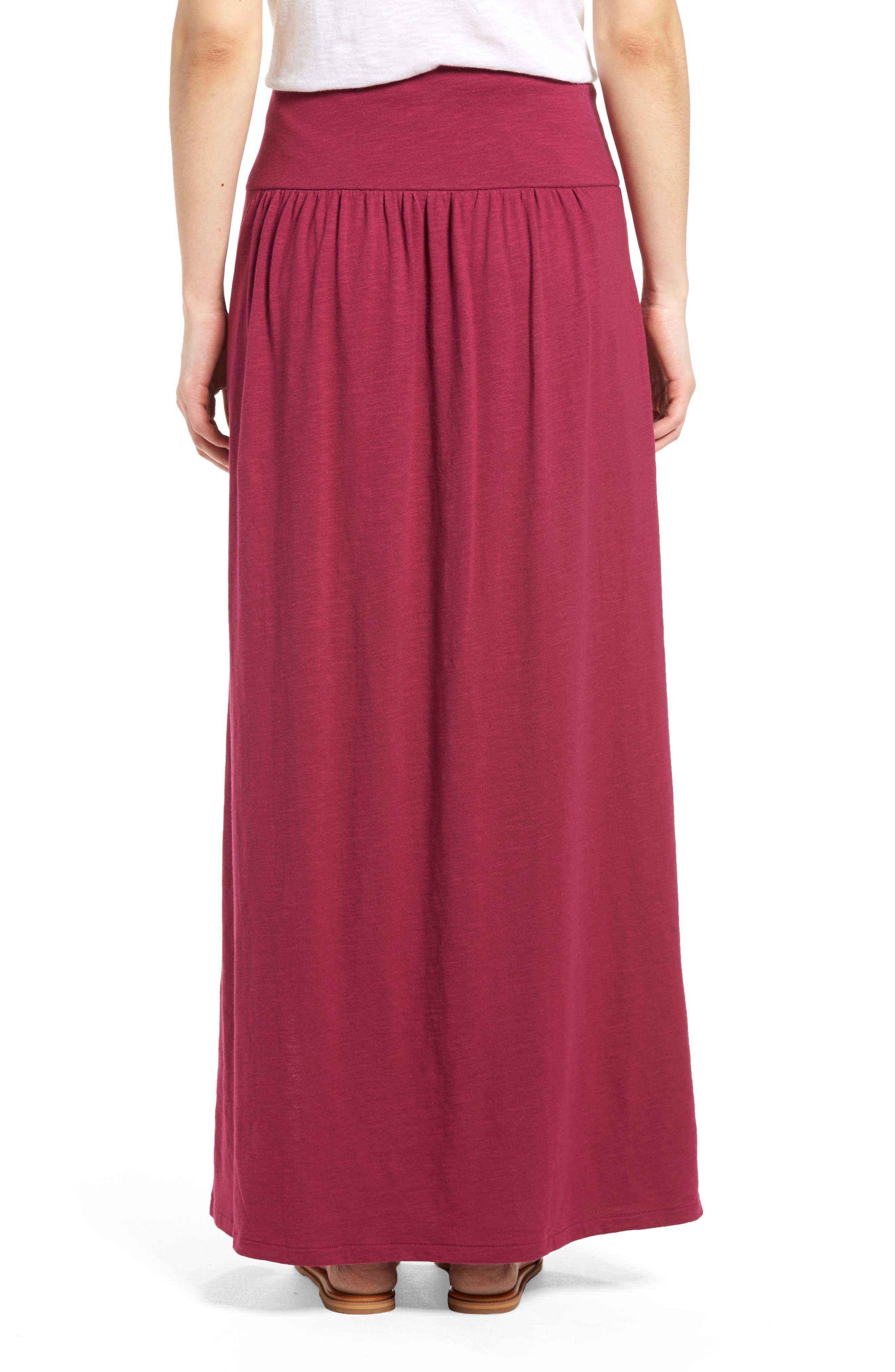Tie Front Cotton Maxi Skirt,                             Alternate thumbnail 10, color,