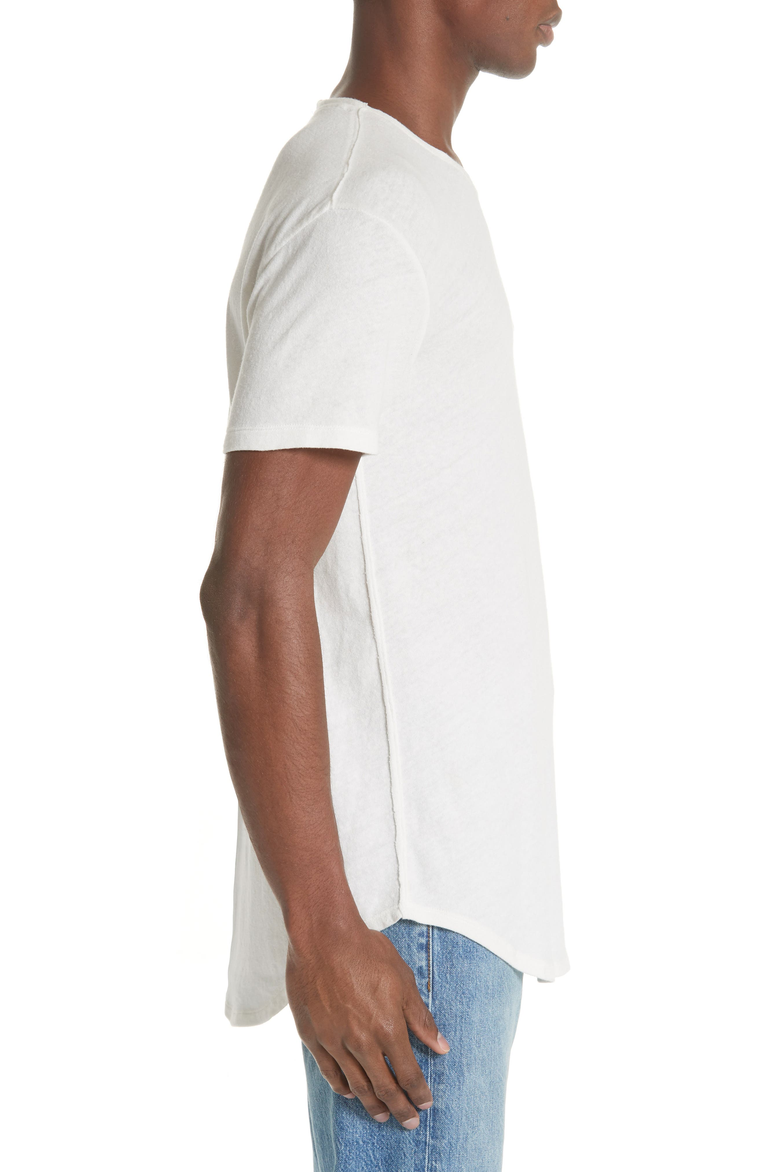 Pocket T-Shirt,                             Alternate thumbnail 3, color,                             WHITE