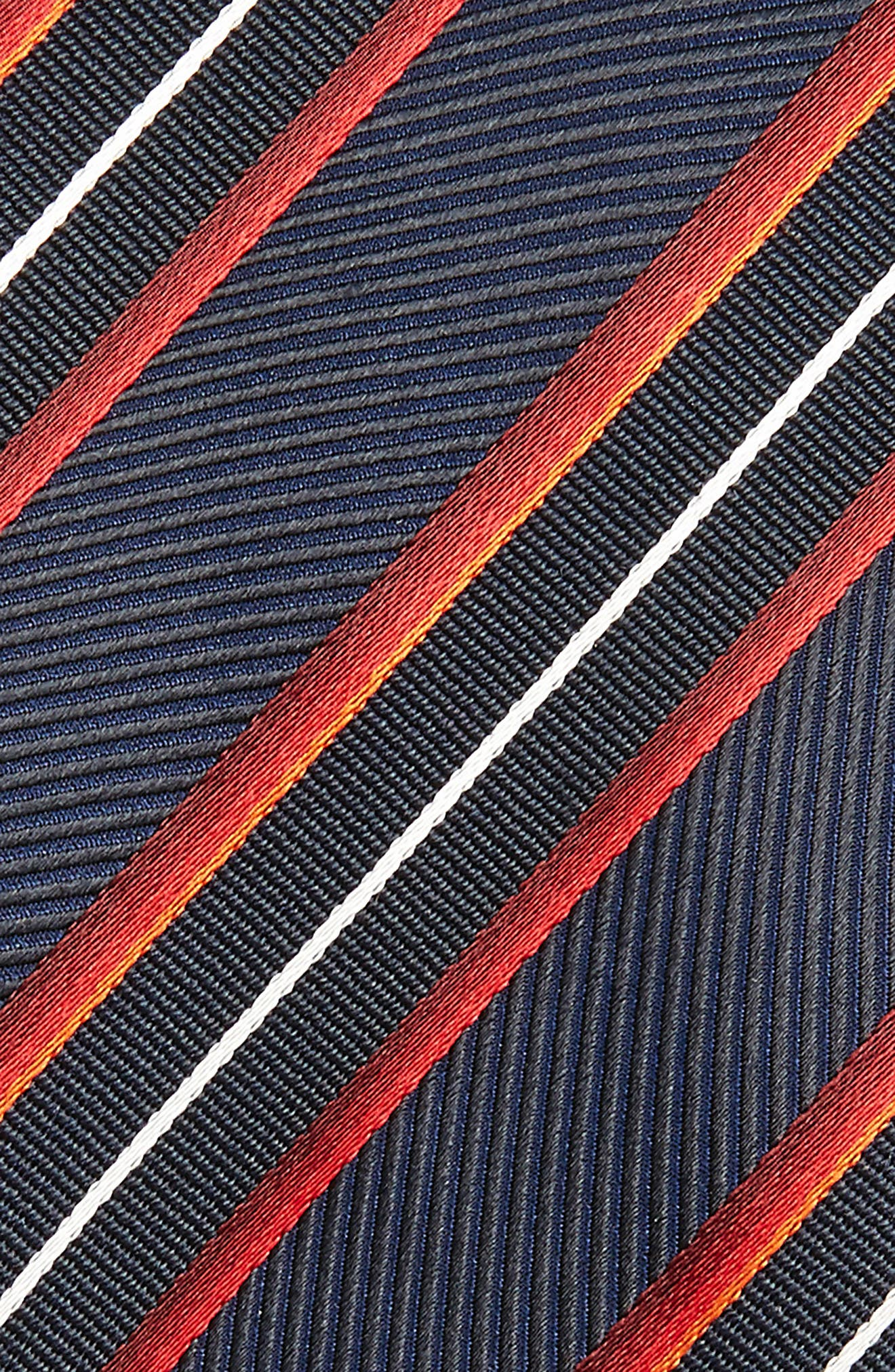 Diagonal Stripe Silk Tie,                             Alternate thumbnail 2, color,                             613