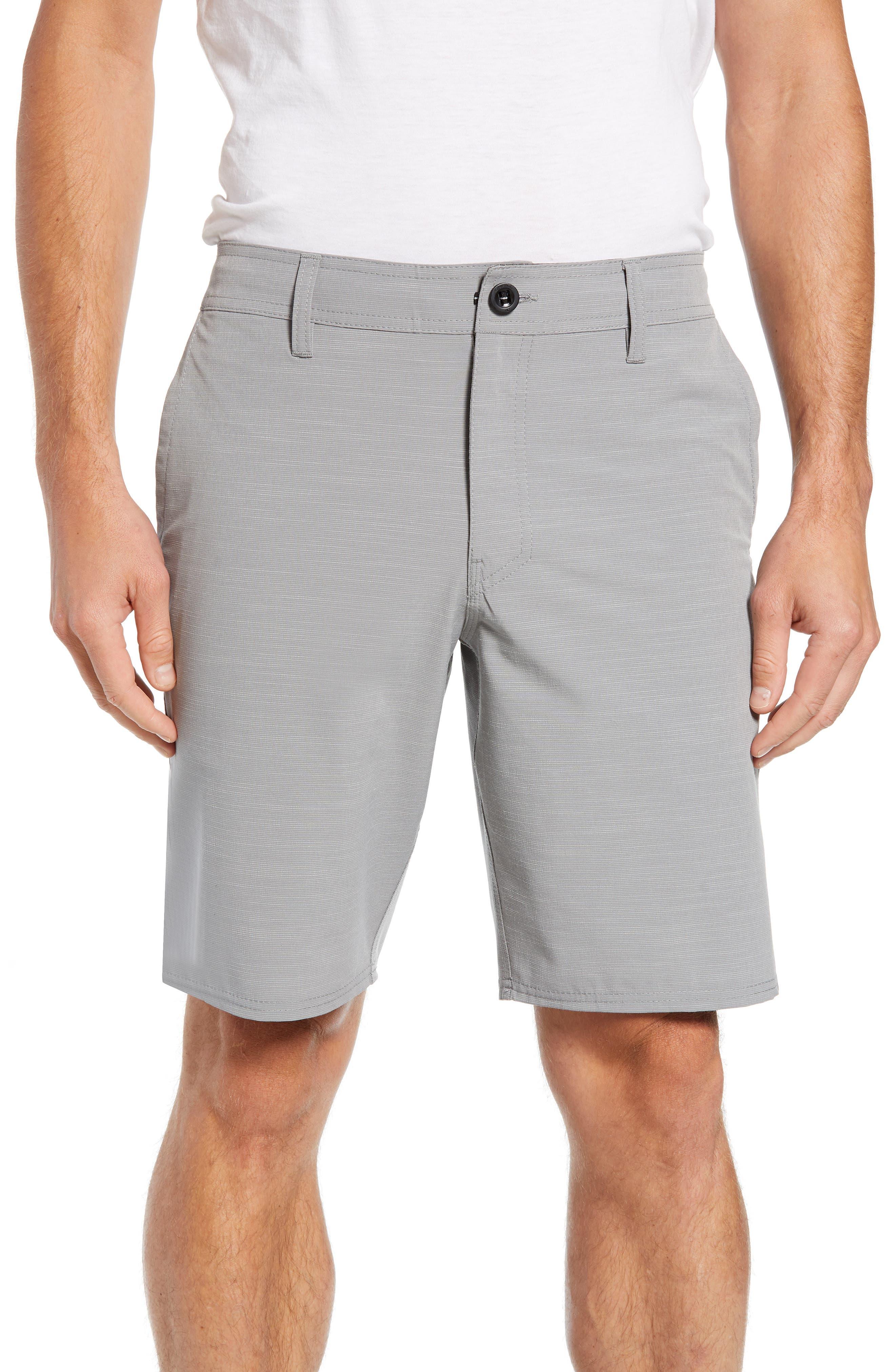 Locked Slub Hybrid Shorts,                             Main thumbnail 1, color,                             039