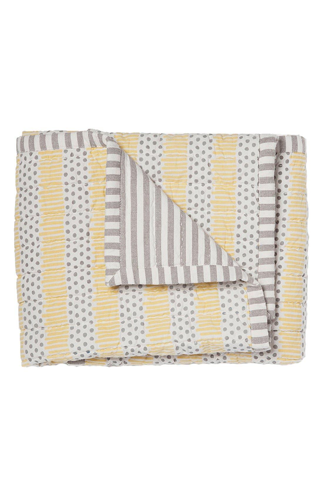 'Hug Me Tight' Cotton Baby Blanket,                         Main,                         color, 020