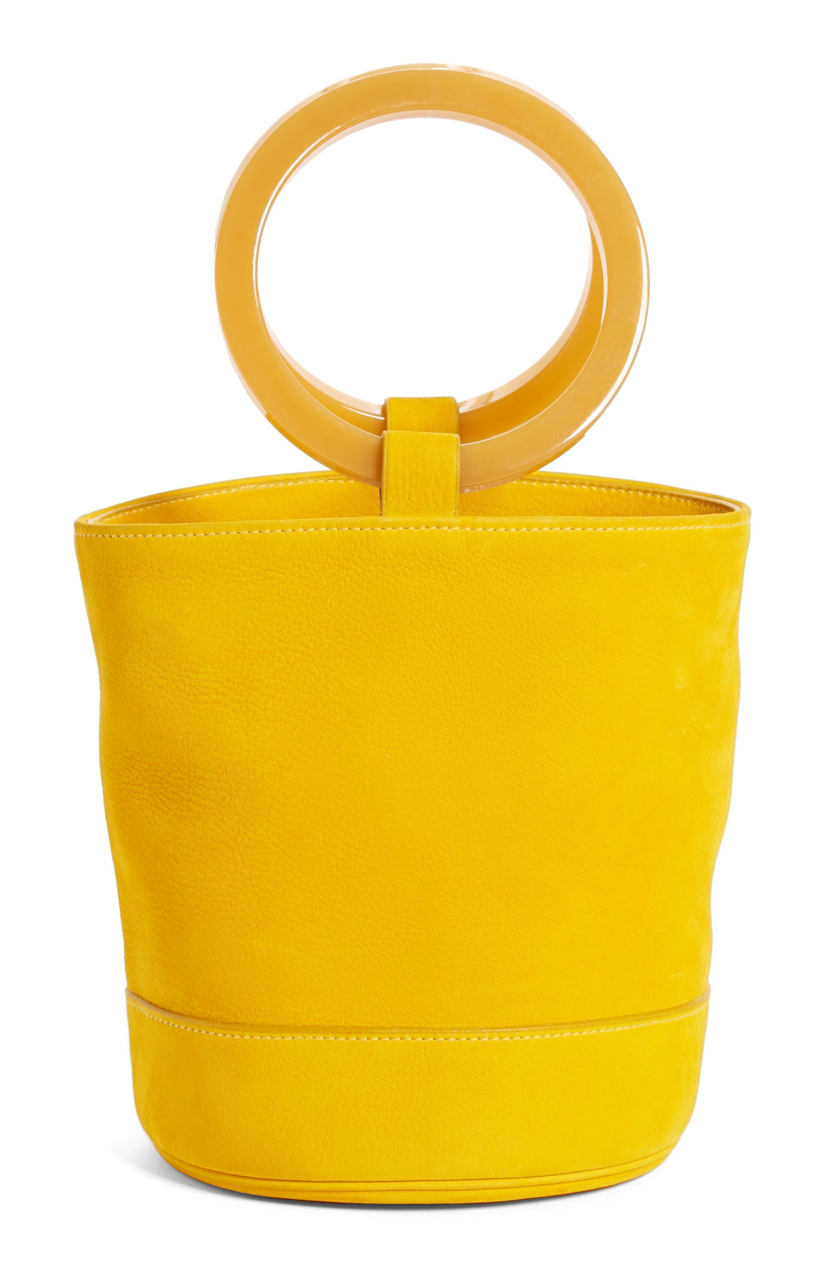 Bonsai Nubuck Bucket Bag,                             Alternate thumbnail 3, color,                             700