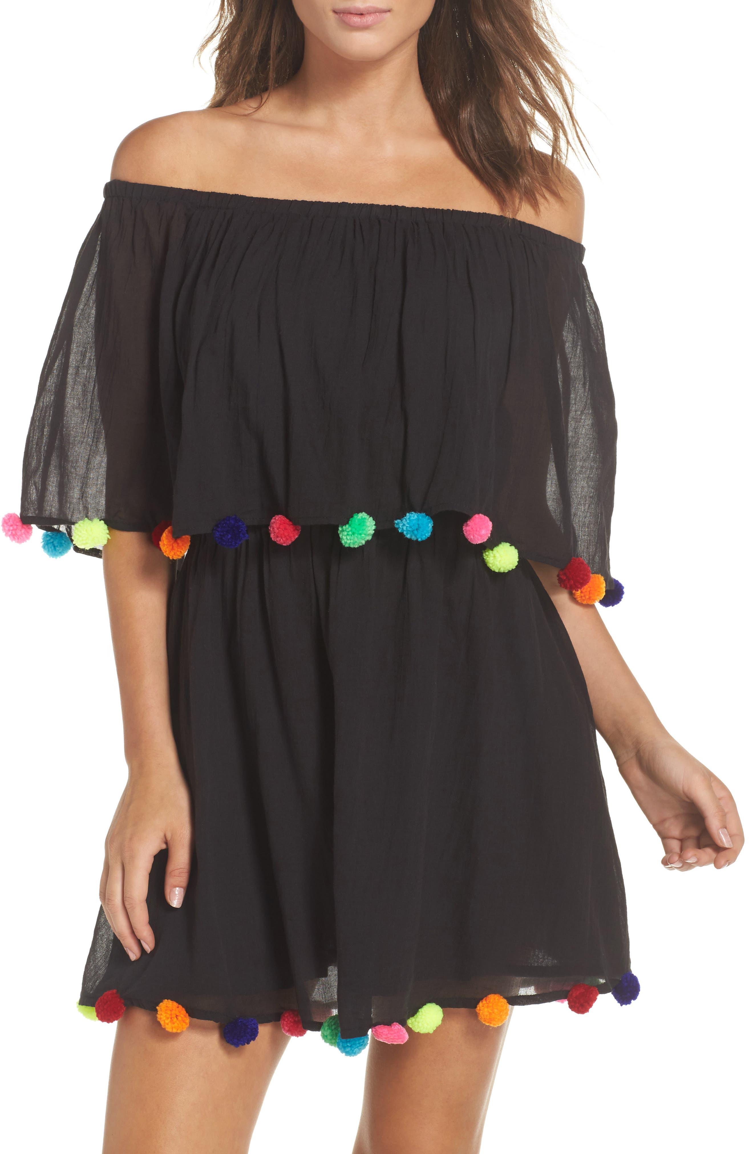 Cover-Up Dress,                             Main thumbnail 1, color,                             001