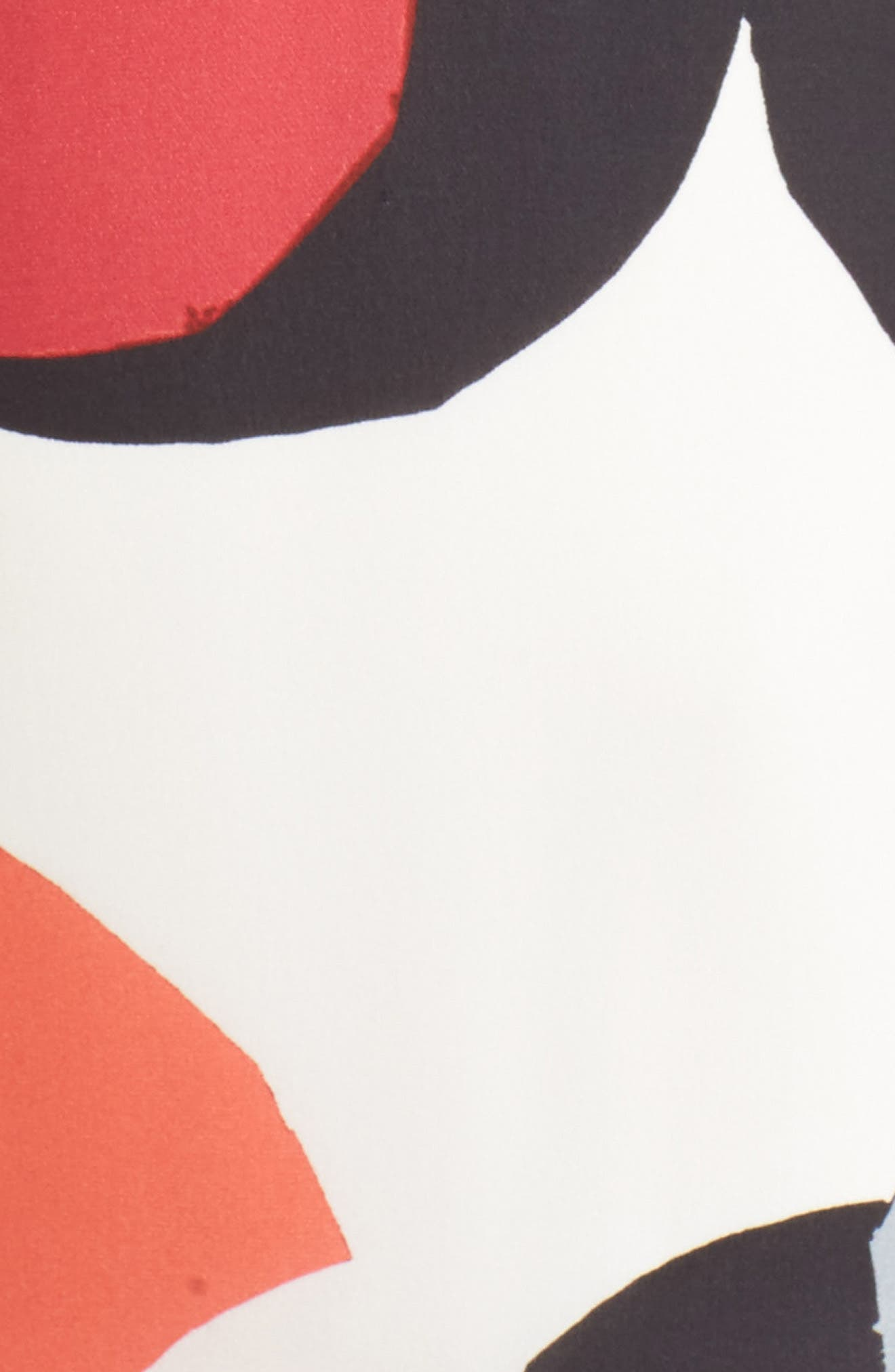 Natalie Silk Dress,                             Alternate thumbnail 5, color,