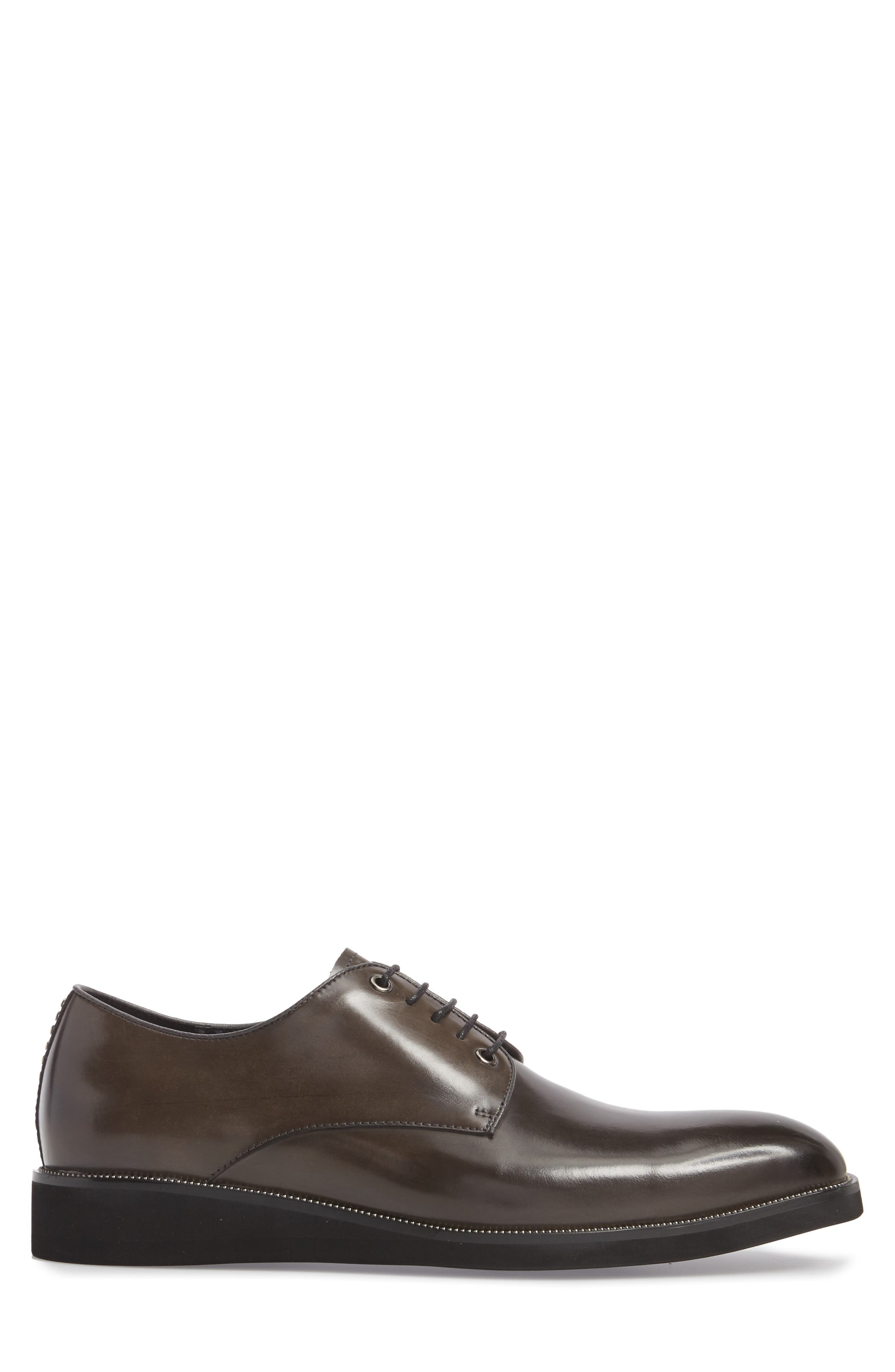 Studded Oxford,                             Alternate thumbnail 3, color,                             GREY
