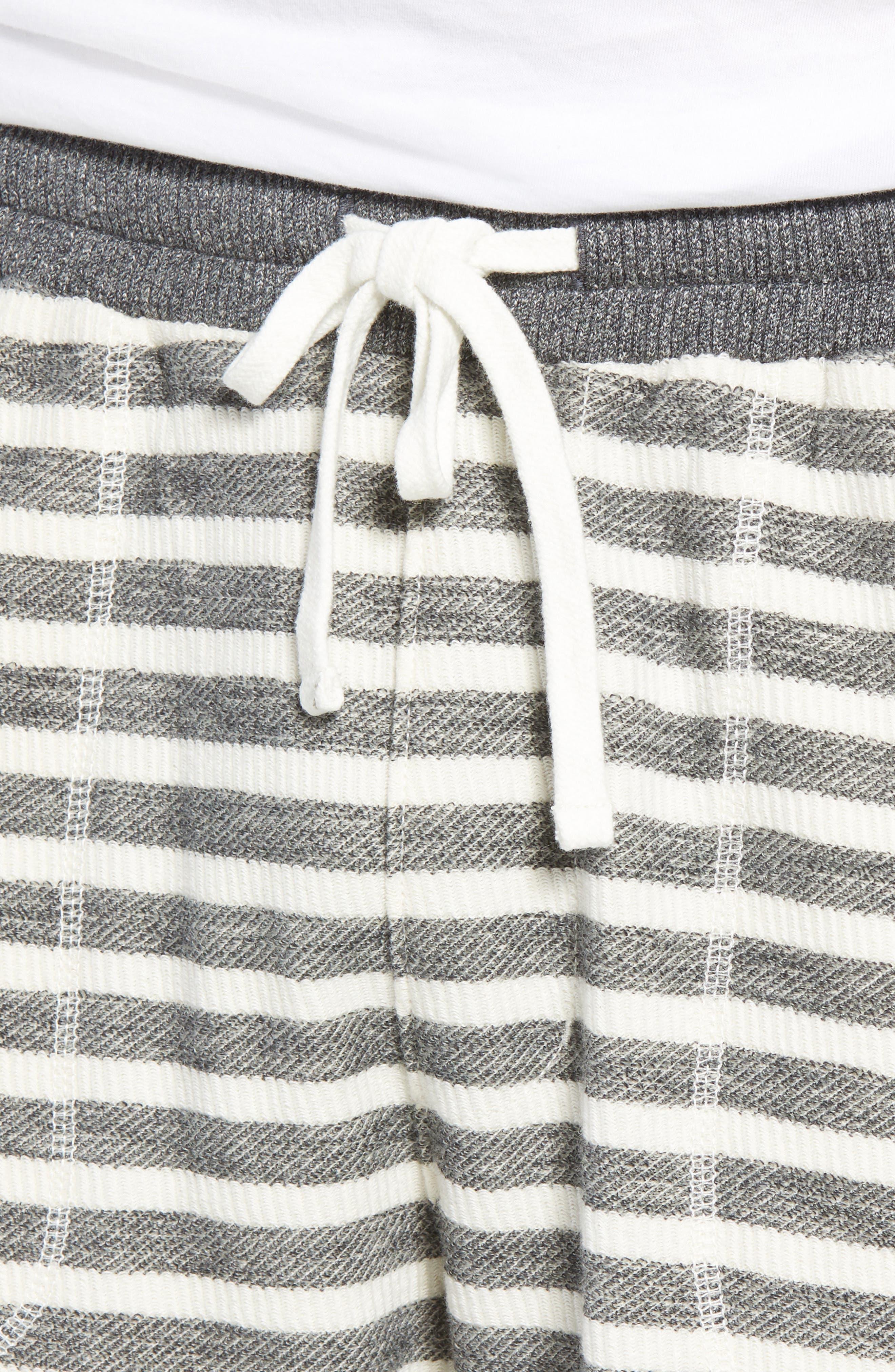 Knit Shorts,                             Alternate thumbnail 4, color,                             021