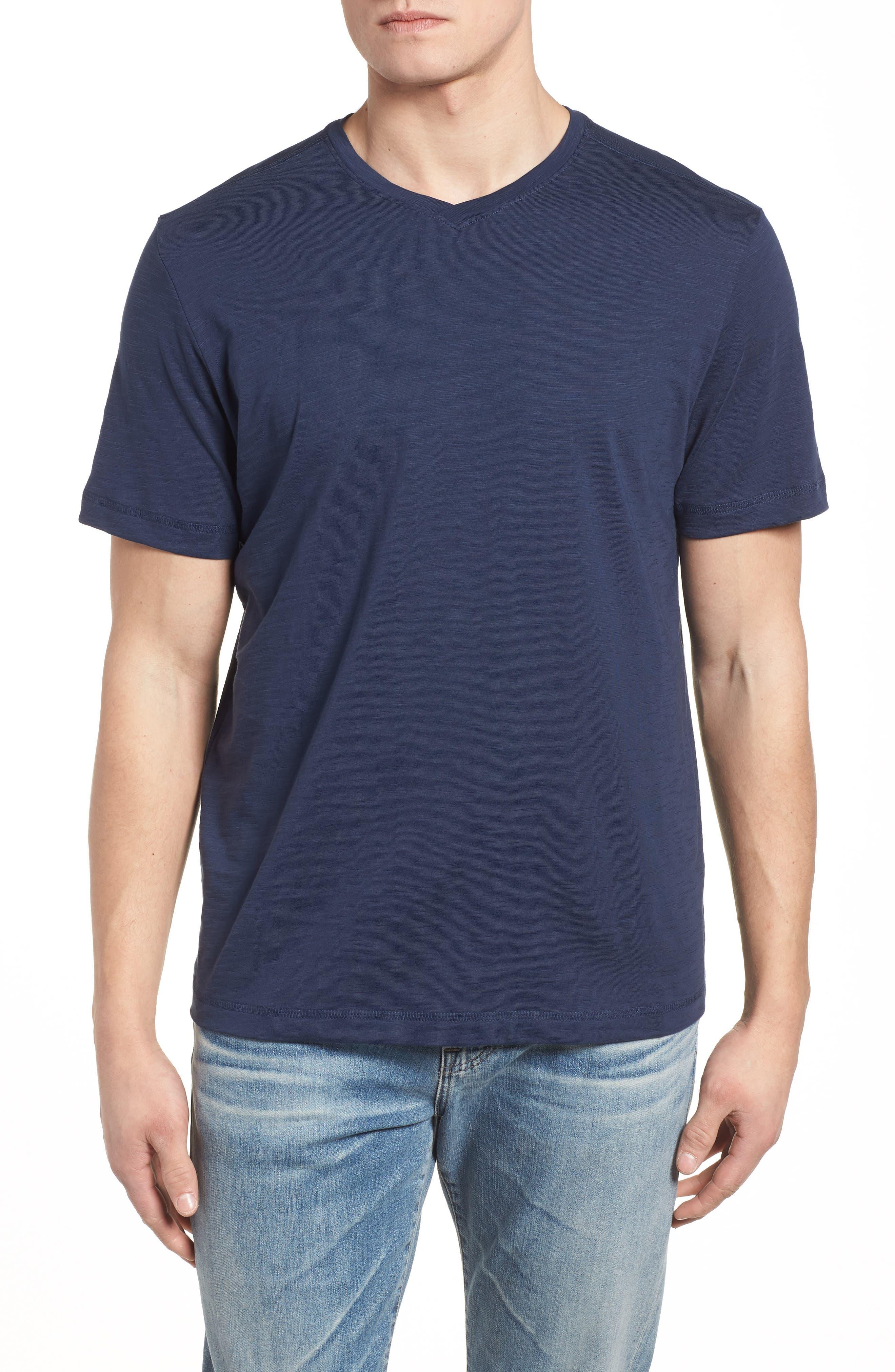 Portside Palms V-Neck T-Shirt,                             Main thumbnail 8, color,