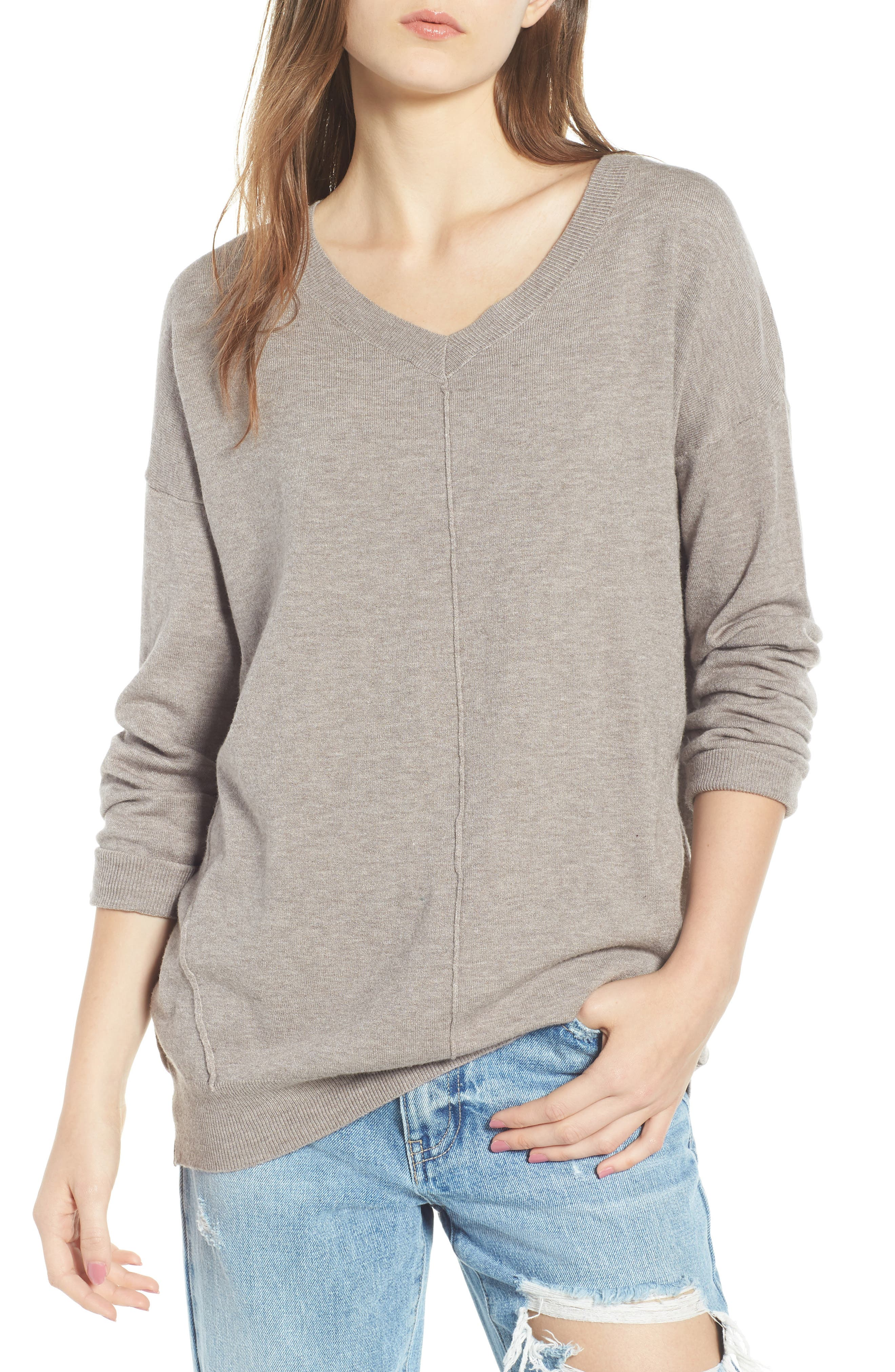 Exposed Seam Sweater,                         Main,                         color,
