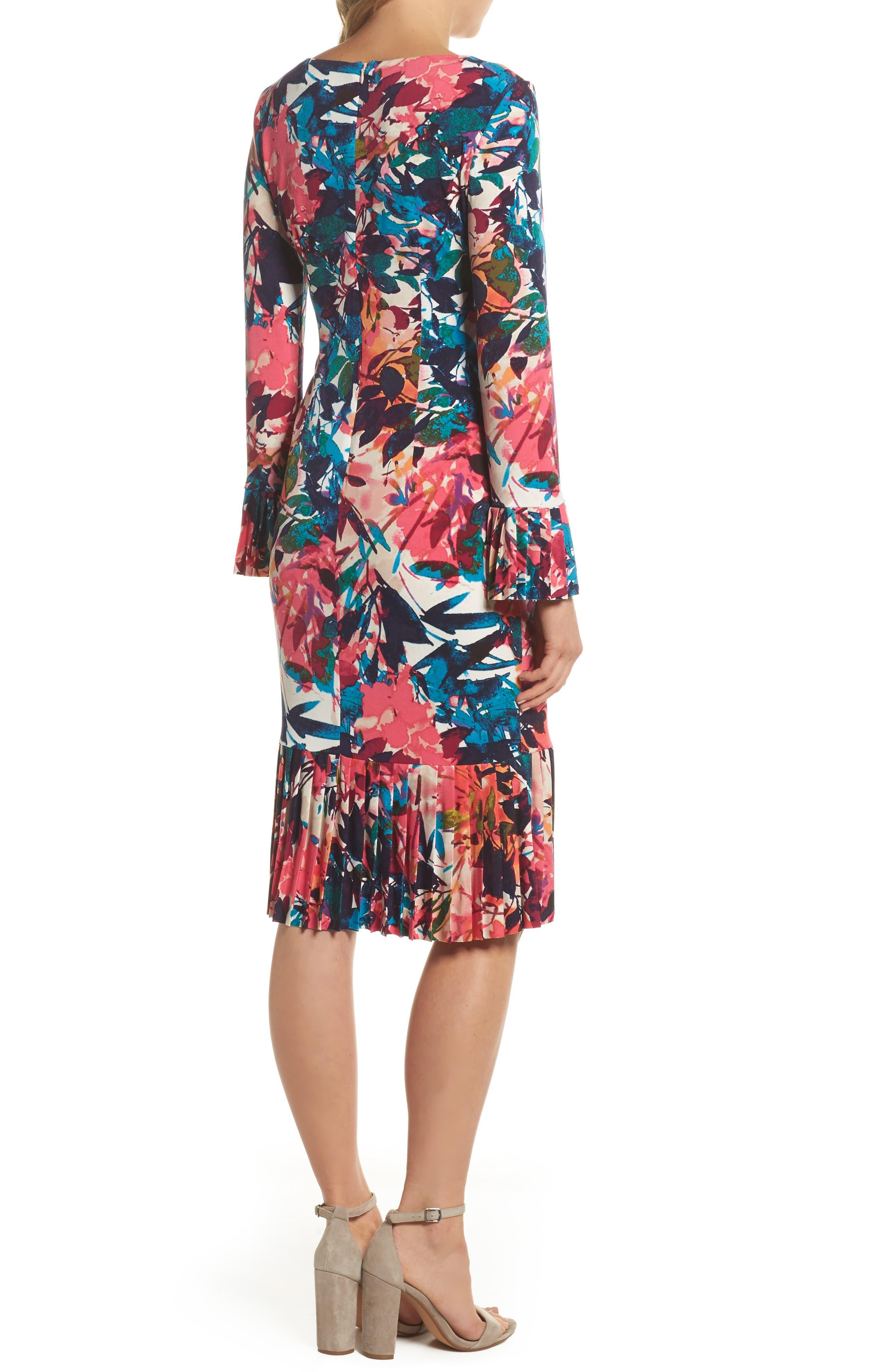 Midi Sheath Dress,                             Alternate thumbnail 2, color,                             692