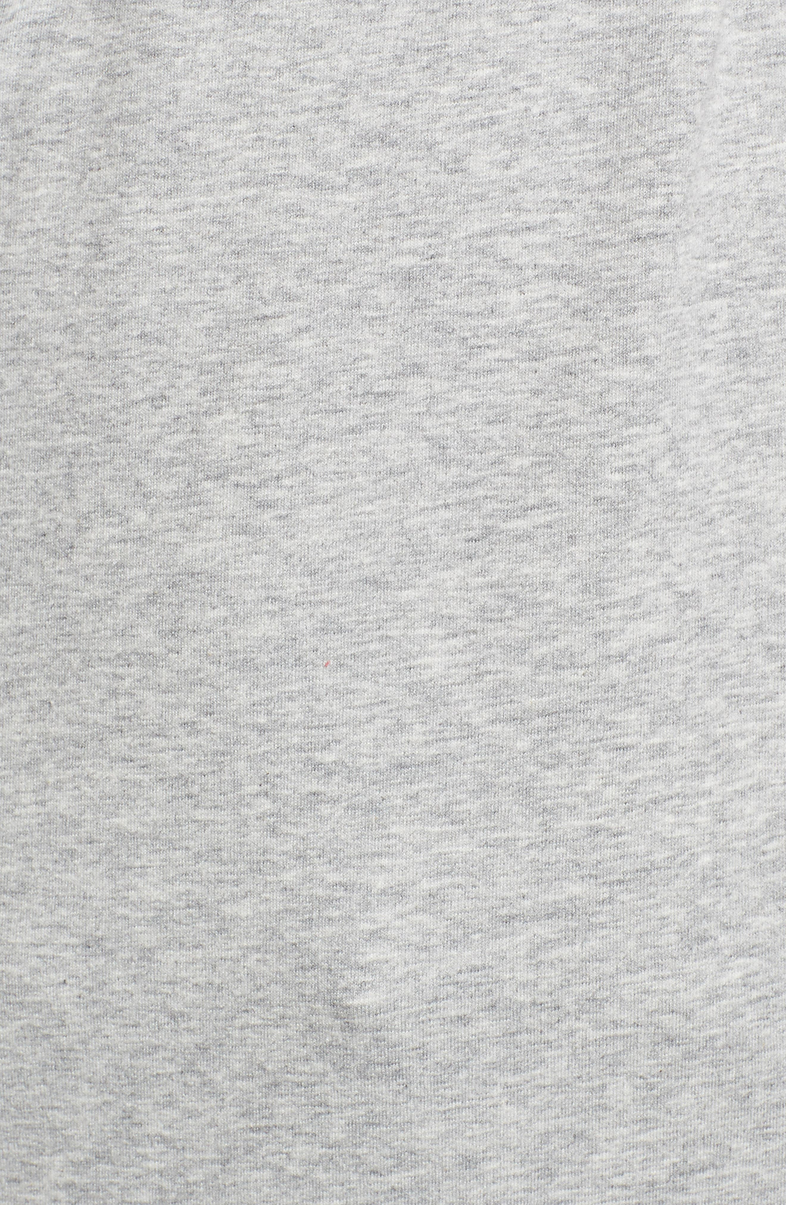 Twist Front Sweatshirt,                             Alternate thumbnail 10, color,