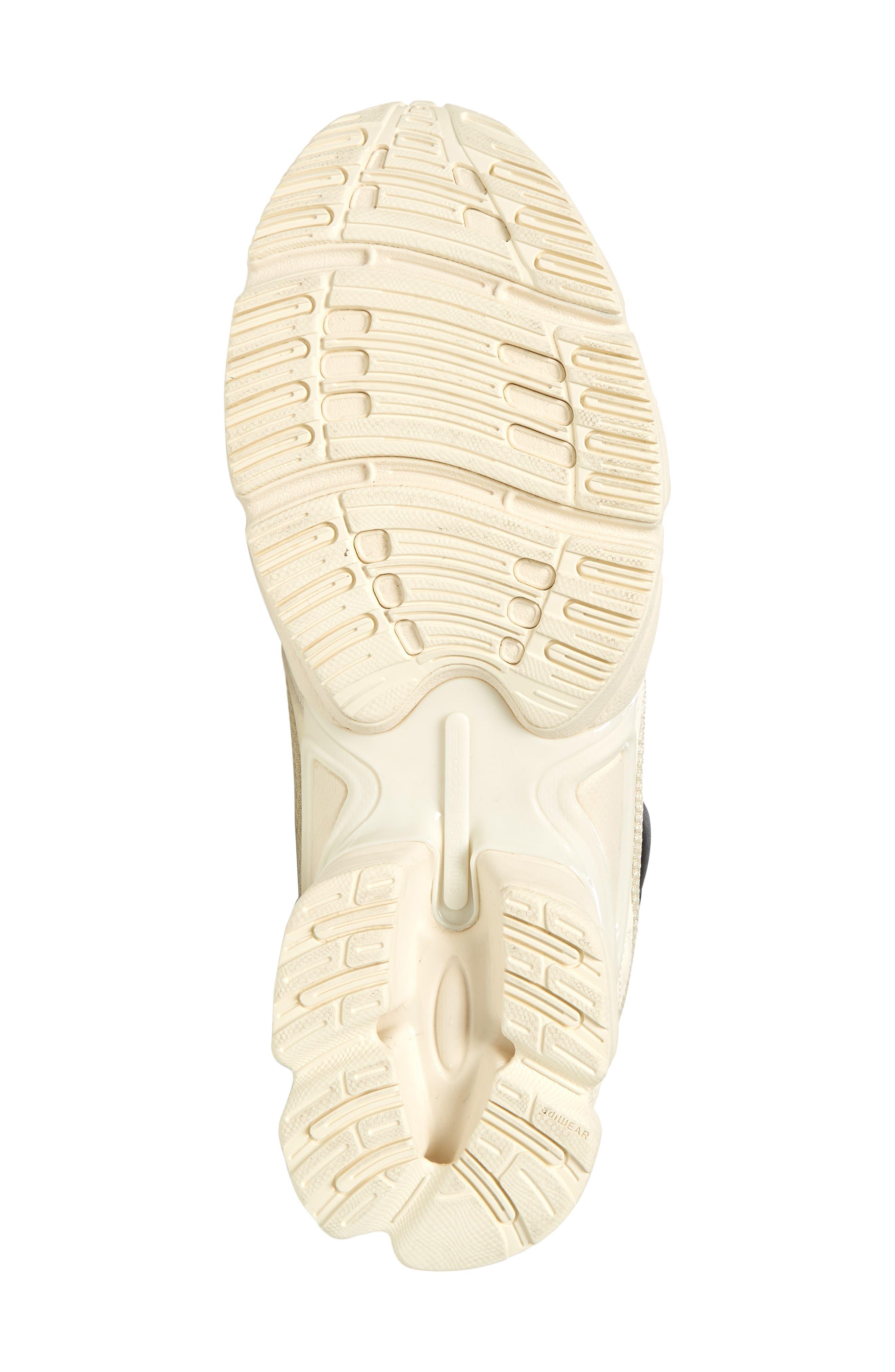adidas by Raf Simons Ozweego III Sneaker,                             Alternate thumbnail 6, color,                             CREAM WHITE/ CORE BLACK