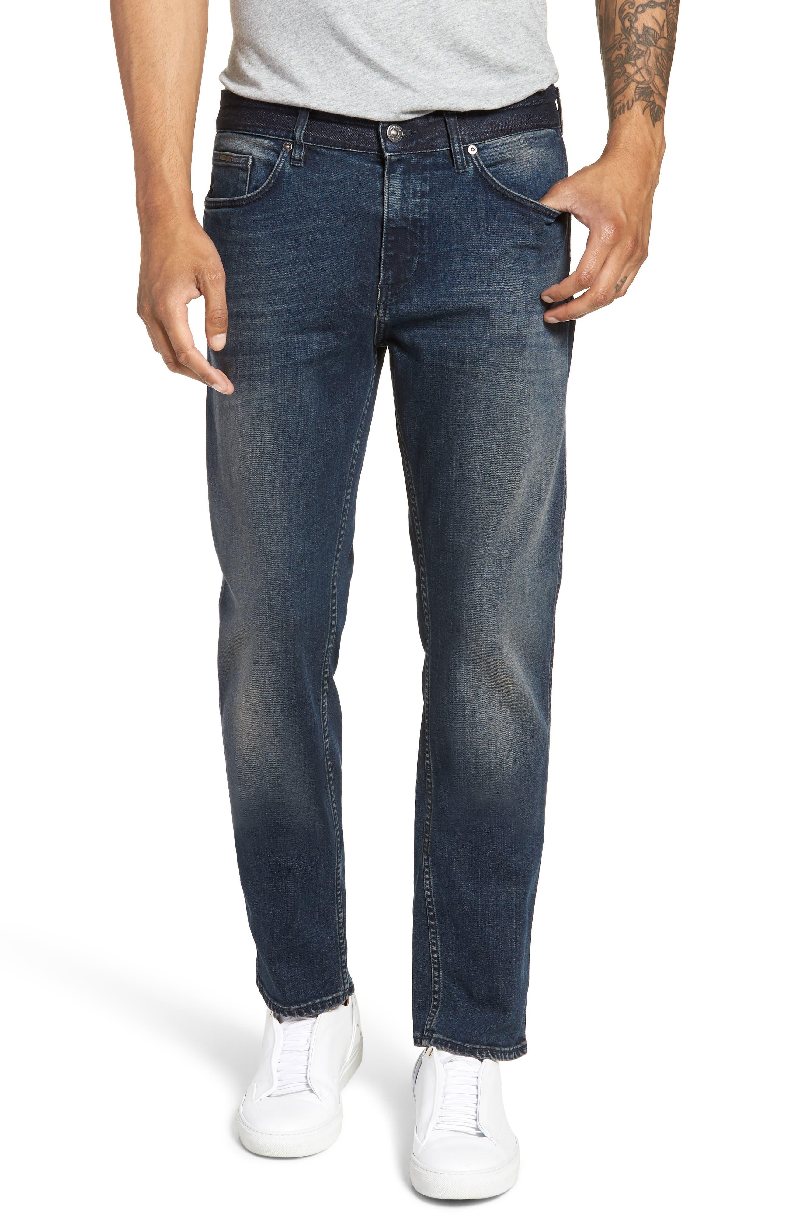 Delaware Slim Fit Jeans,                         Main,                         color, 418