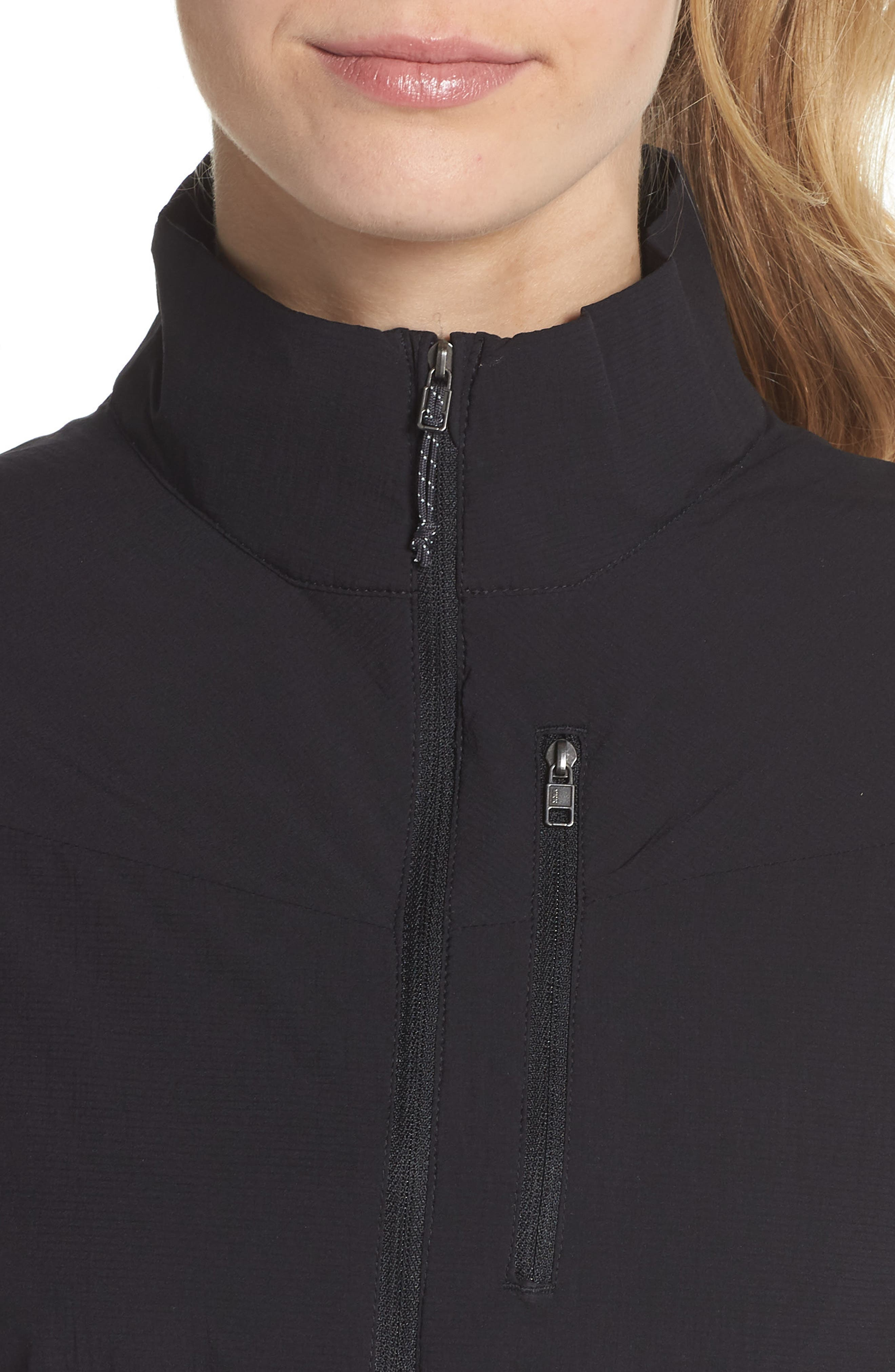 Airshed Pullover,                             Alternate thumbnail 4, color,                             BLACK
