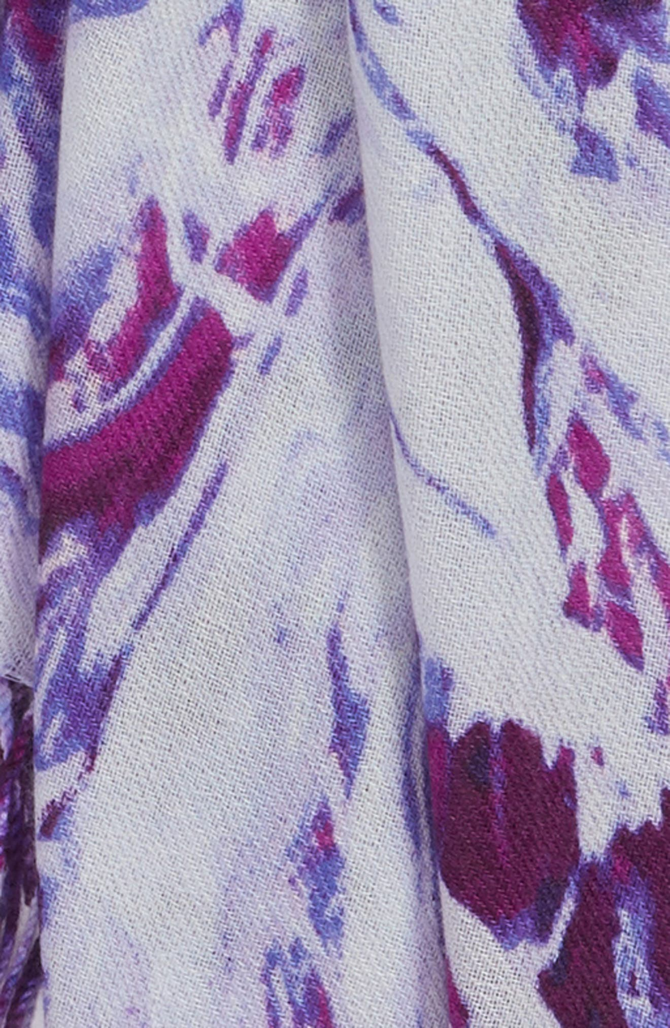 Marble Tissue Wool & Cashmere Scarf,                             Alternate thumbnail 15, color,