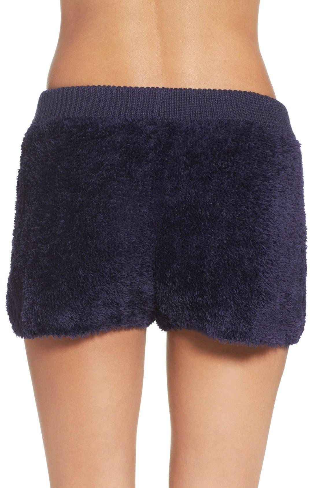 Fuzzy Lounge Shorts,                             Alternate thumbnail 7, color,