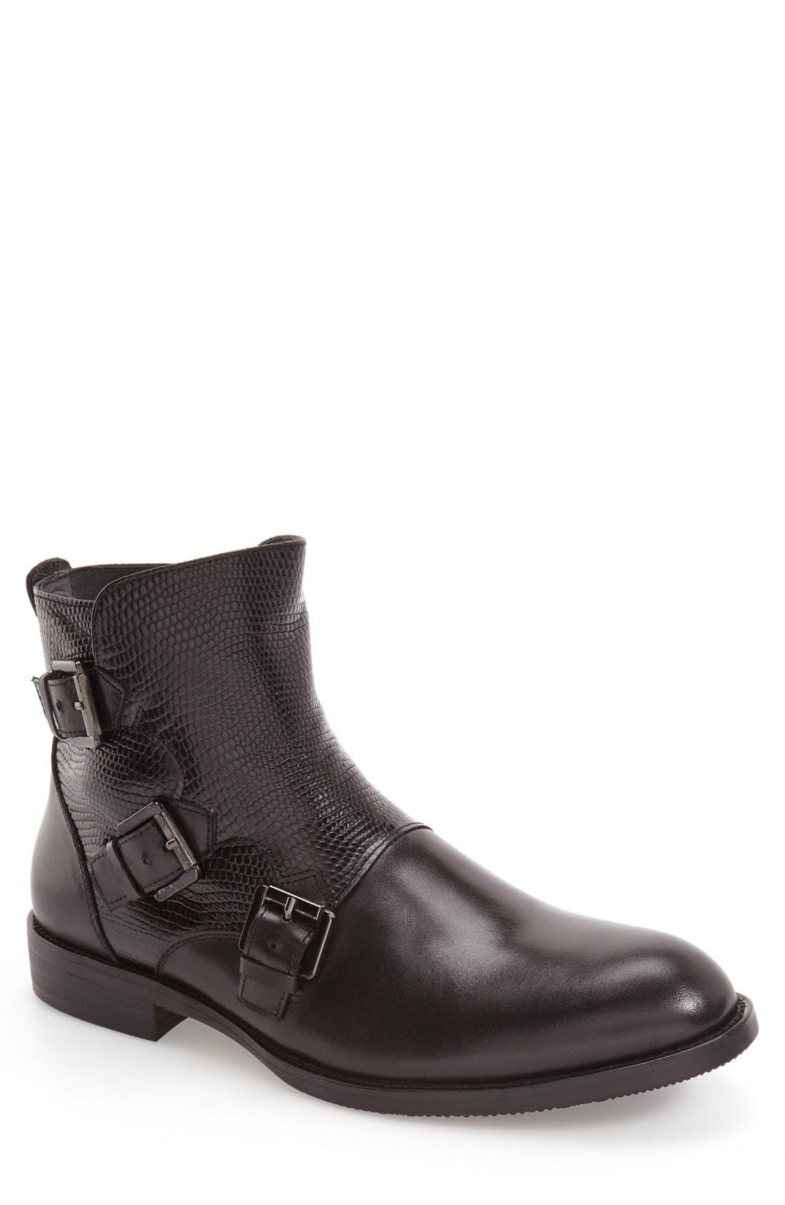 'Messina' Zip Boot,                         Main,                         color,