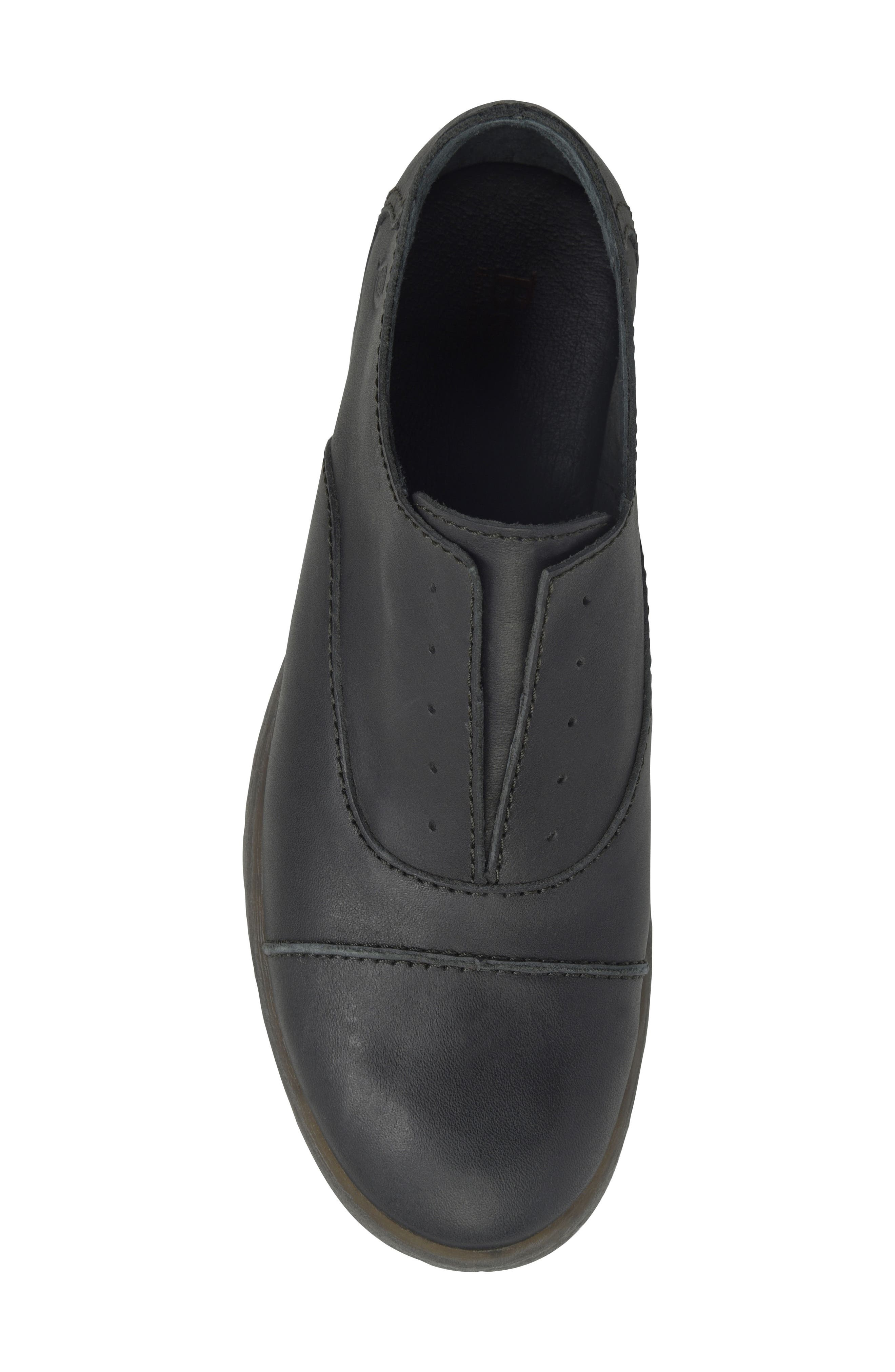 BØRN,                             Forato Slip-On Oxford,                             Alternate thumbnail 5, color,                             001