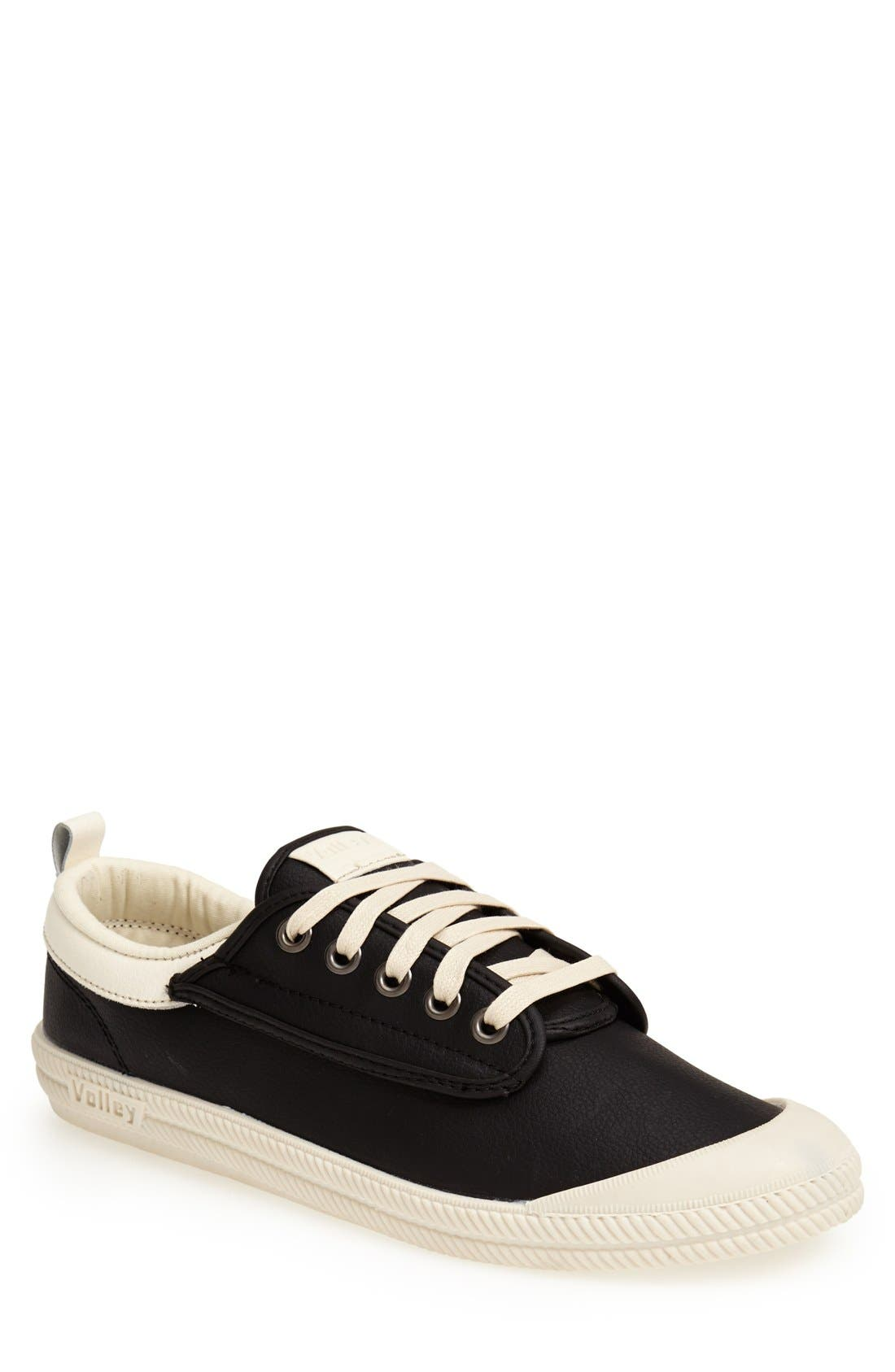 'International' Leather Sneaker,                             Main thumbnail 1, color,                             015