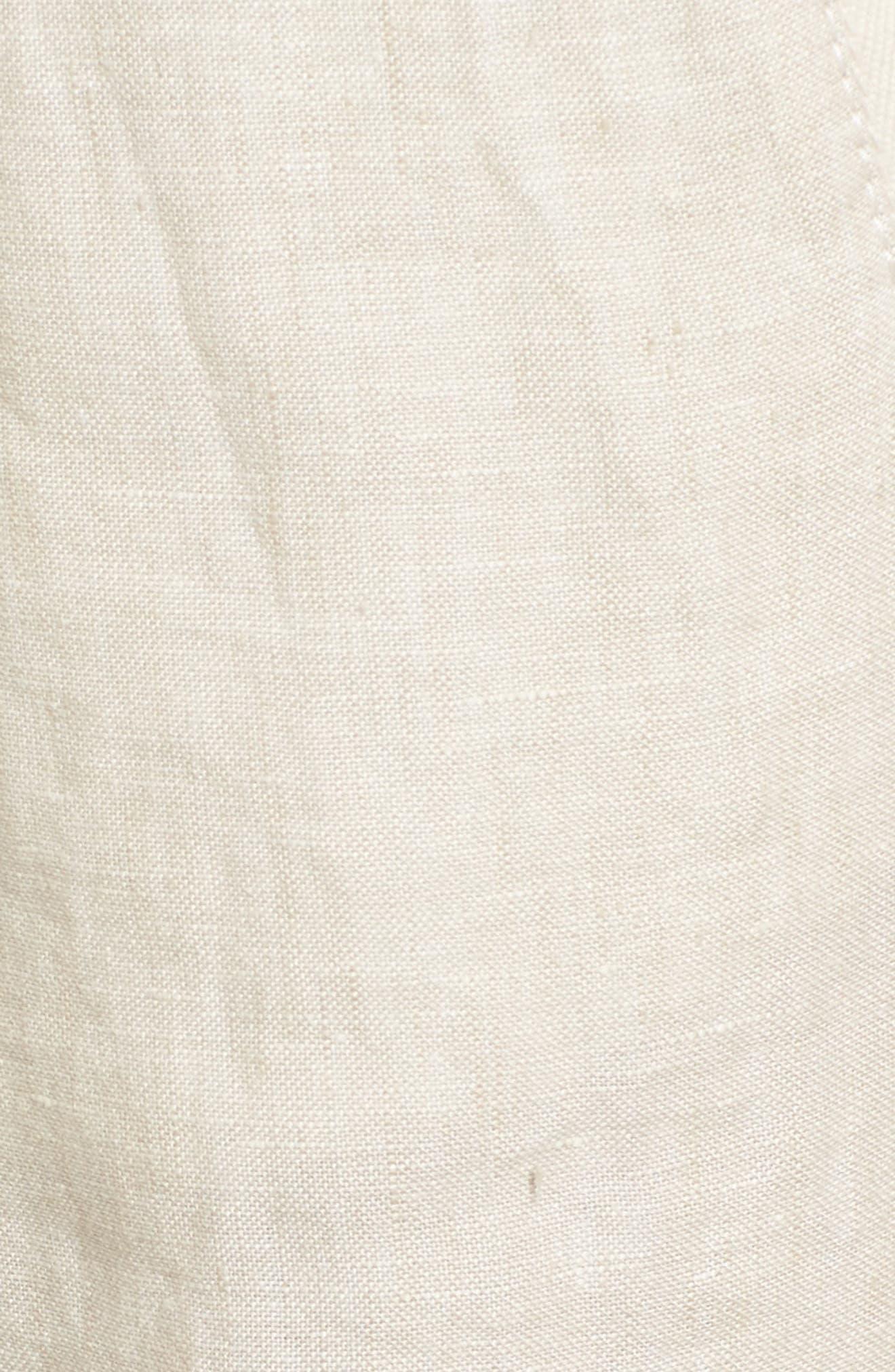 Linen Track Pants,                             Alternate thumbnail 23, color,