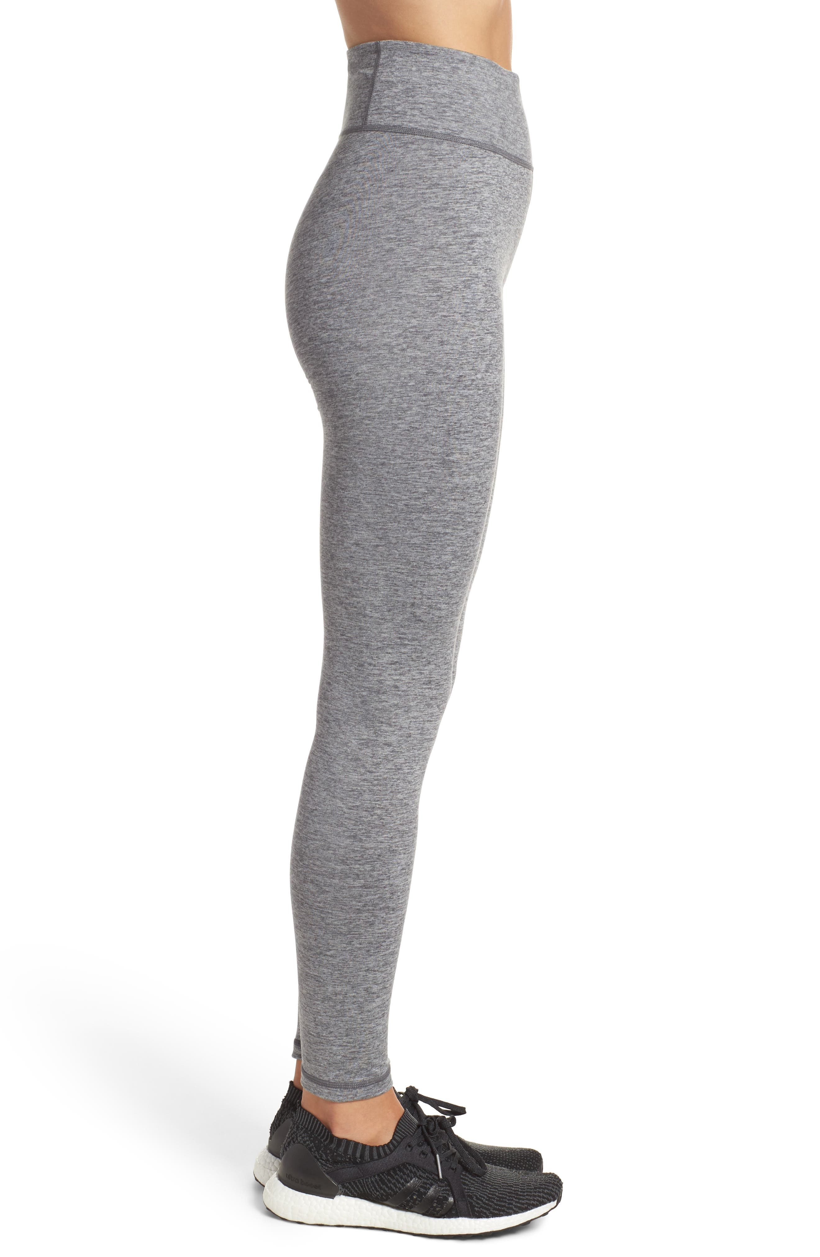 Performer Climalite<sup>®</sup> High Waist Leggings,                             Alternate thumbnail 3, color,                             026