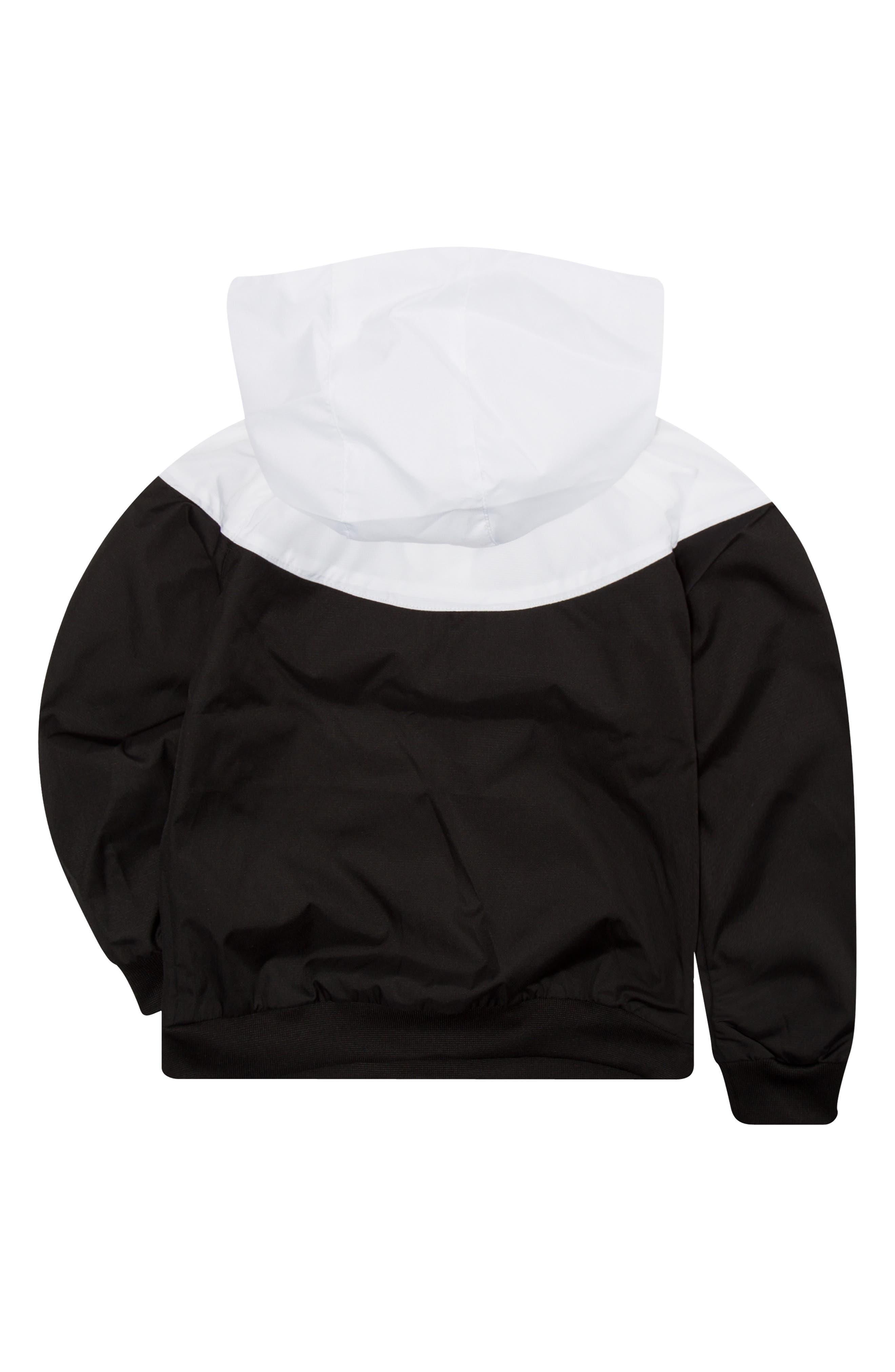 Sportswear Windrunner Zip Hoodie,                             Alternate thumbnail 2, color,                             BLACK