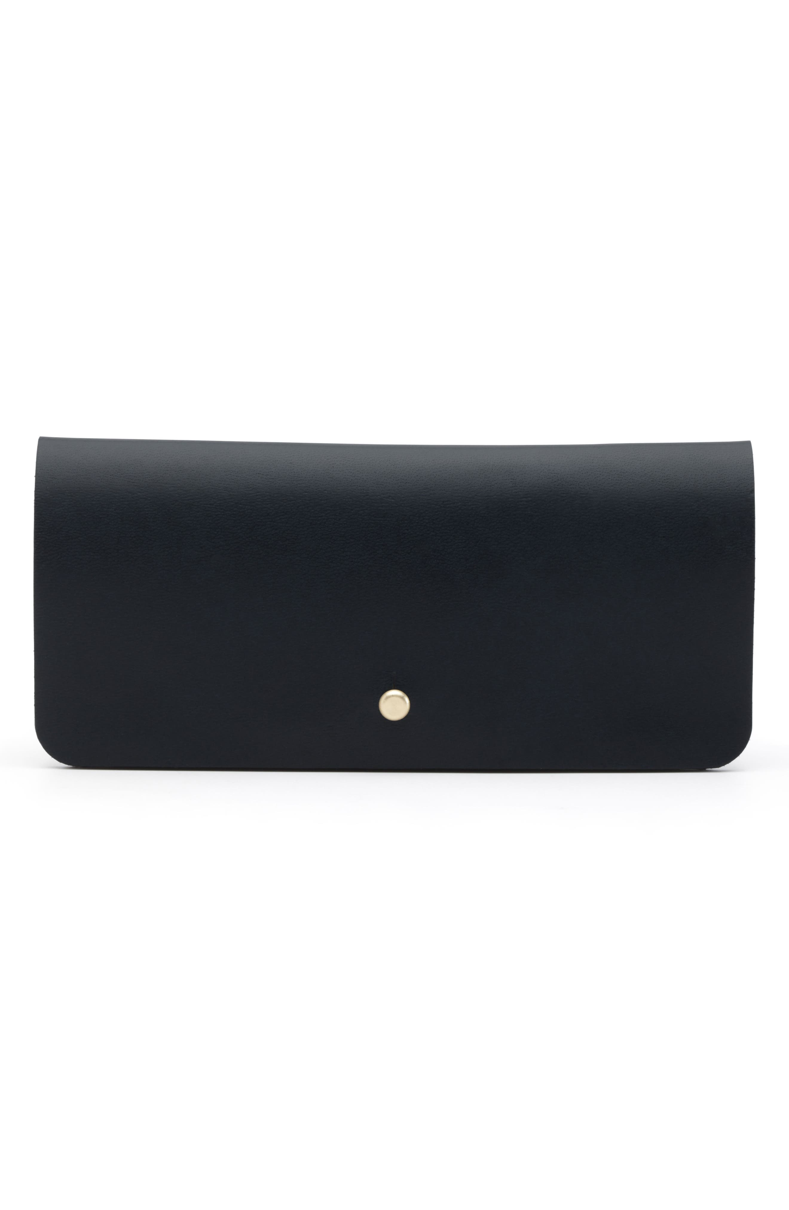 Leather Optical Case,                         Main,                         color, 005