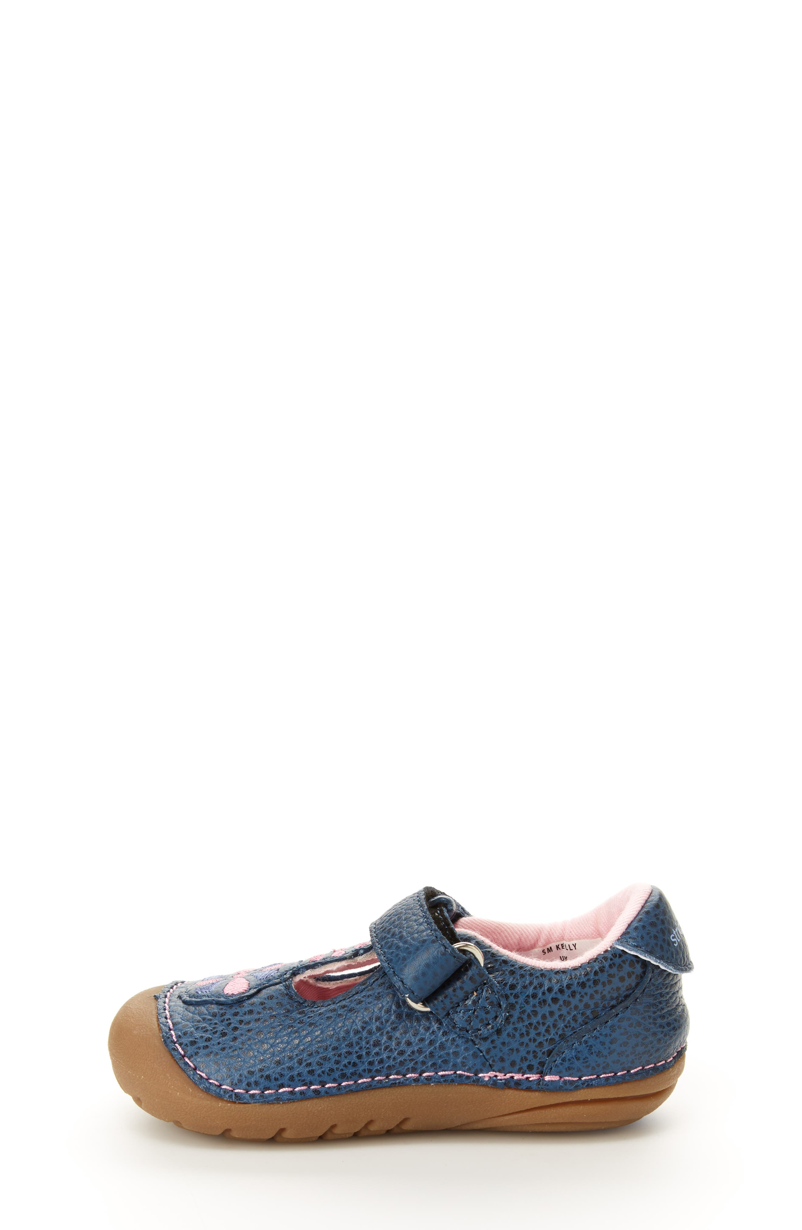 Soft Motion<sup>™</sup> Kelly Sneaker,                             Alternate thumbnail 7, color,                             NAVY