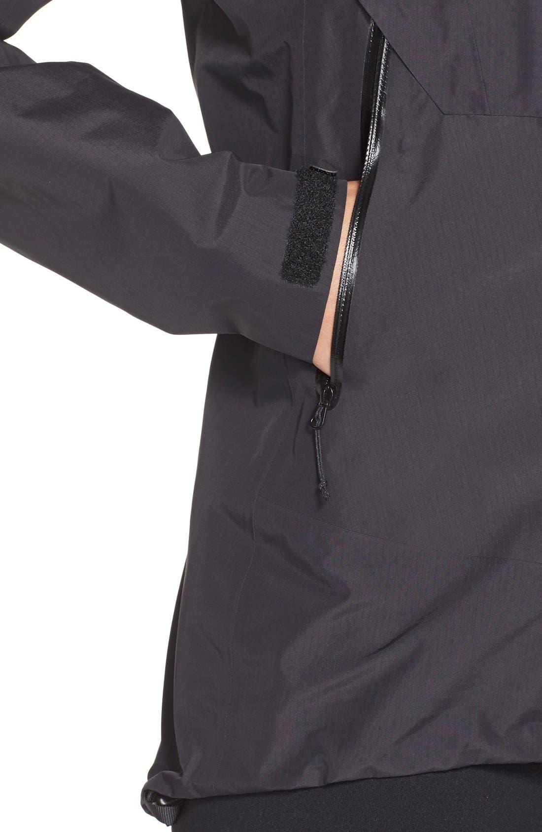 'Beta SL' Waterproof Jacket,                             Alternate thumbnail 4, color,                             001