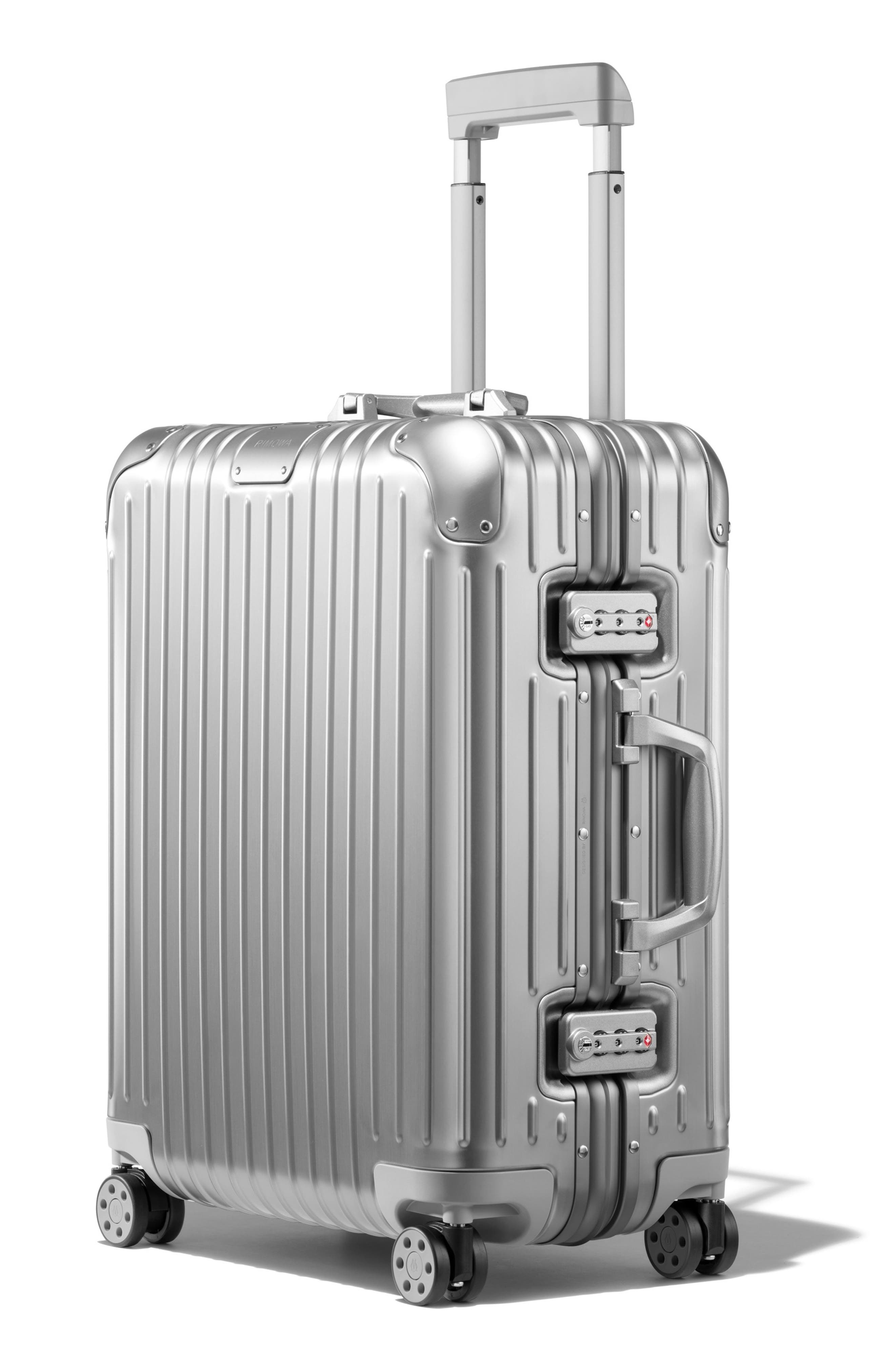 Original Cabin Plus 23-Inch Packing Case,                             Alternate thumbnail 4, color,                             SILVER