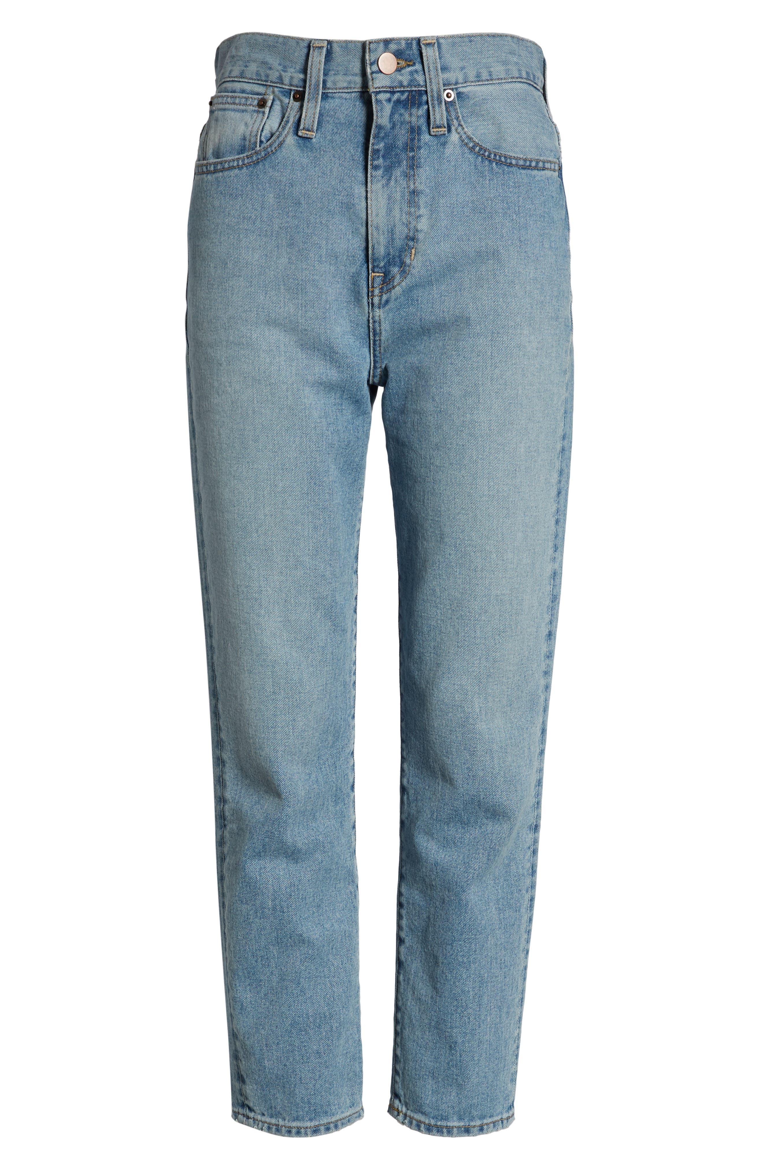 Ankle Cigarette Jeans,                             Alternate thumbnail 8, color,                             400