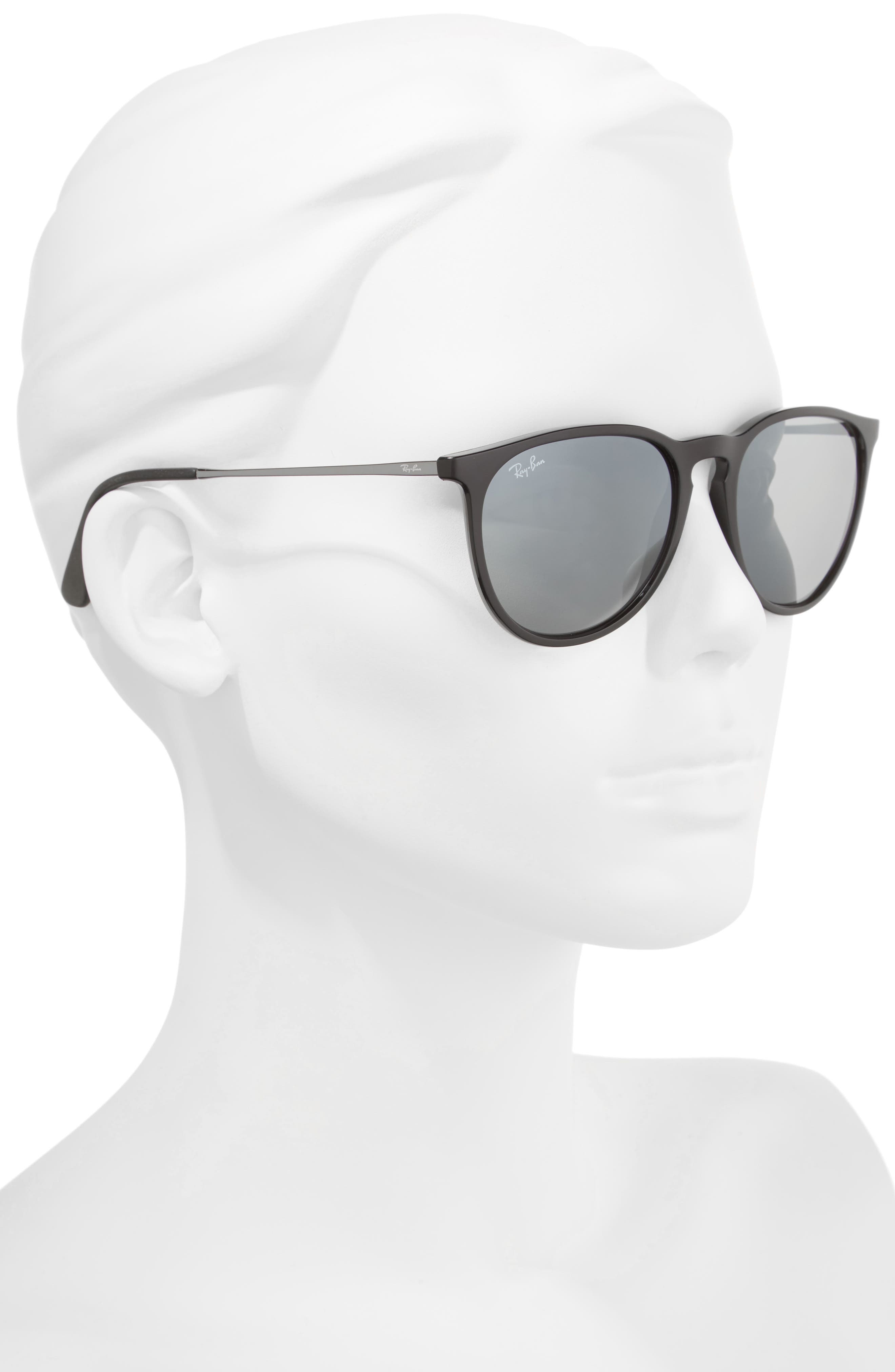 Erika 54mm Mirrored Sunglasses,                             Alternate thumbnail 3, color,