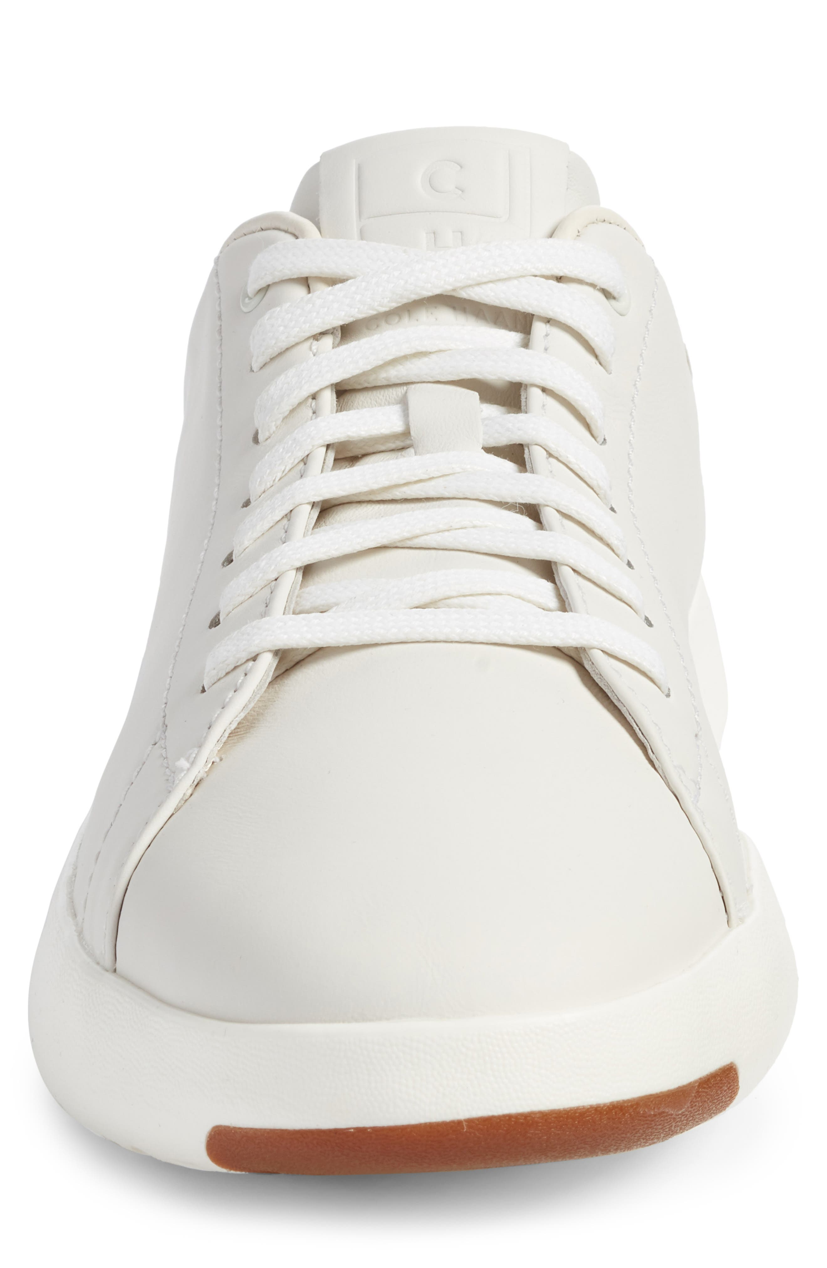 GrandPro Tennis Sneaker,                             Alternate thumbnail 4, color,                             WHITE