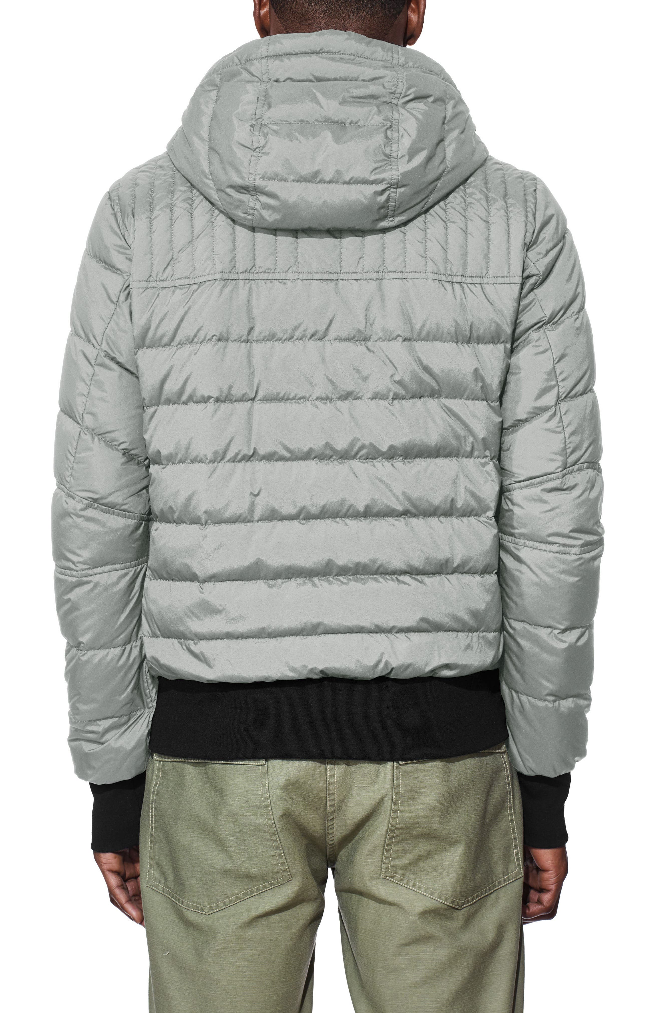 CANADA GOOSE,                             Cabri Hooded Slim Fit Down Jacket,                             Alternate thumbnail 2, color,                             031