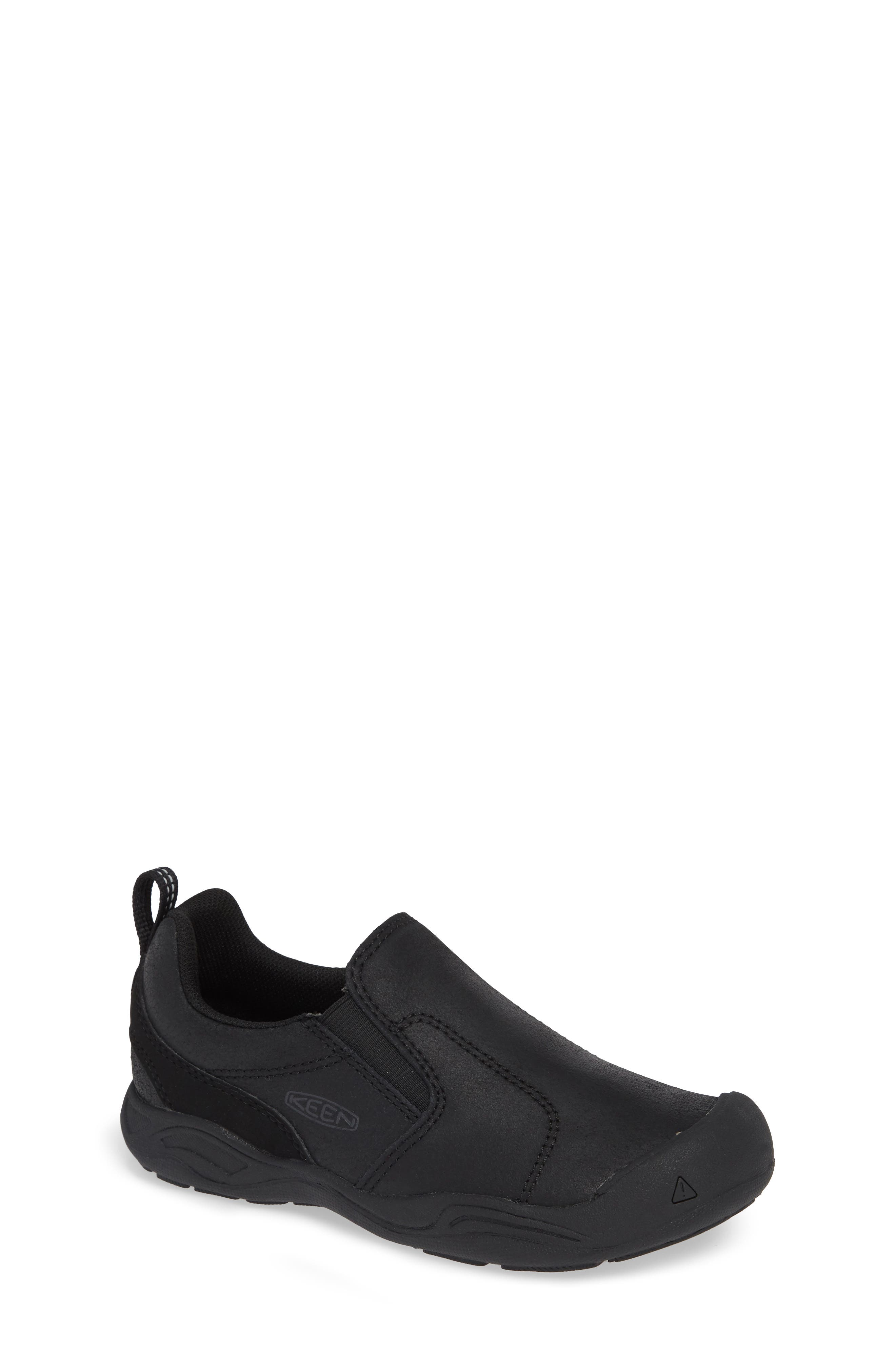 Jasper Slip-On Sneaker,                         Main,                         color, BLACK/ RAVEN