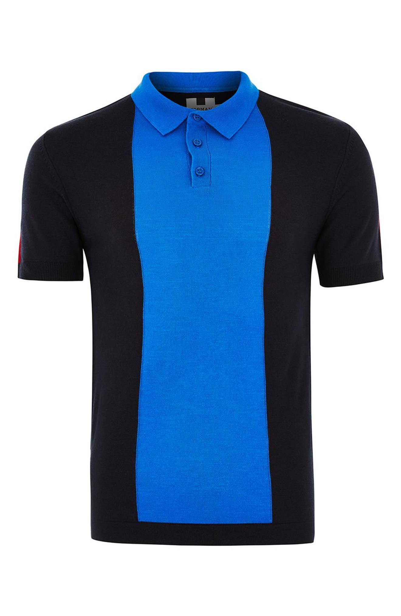 Colorblock Polo,                             Alternate thumbnail 3, color,                             401