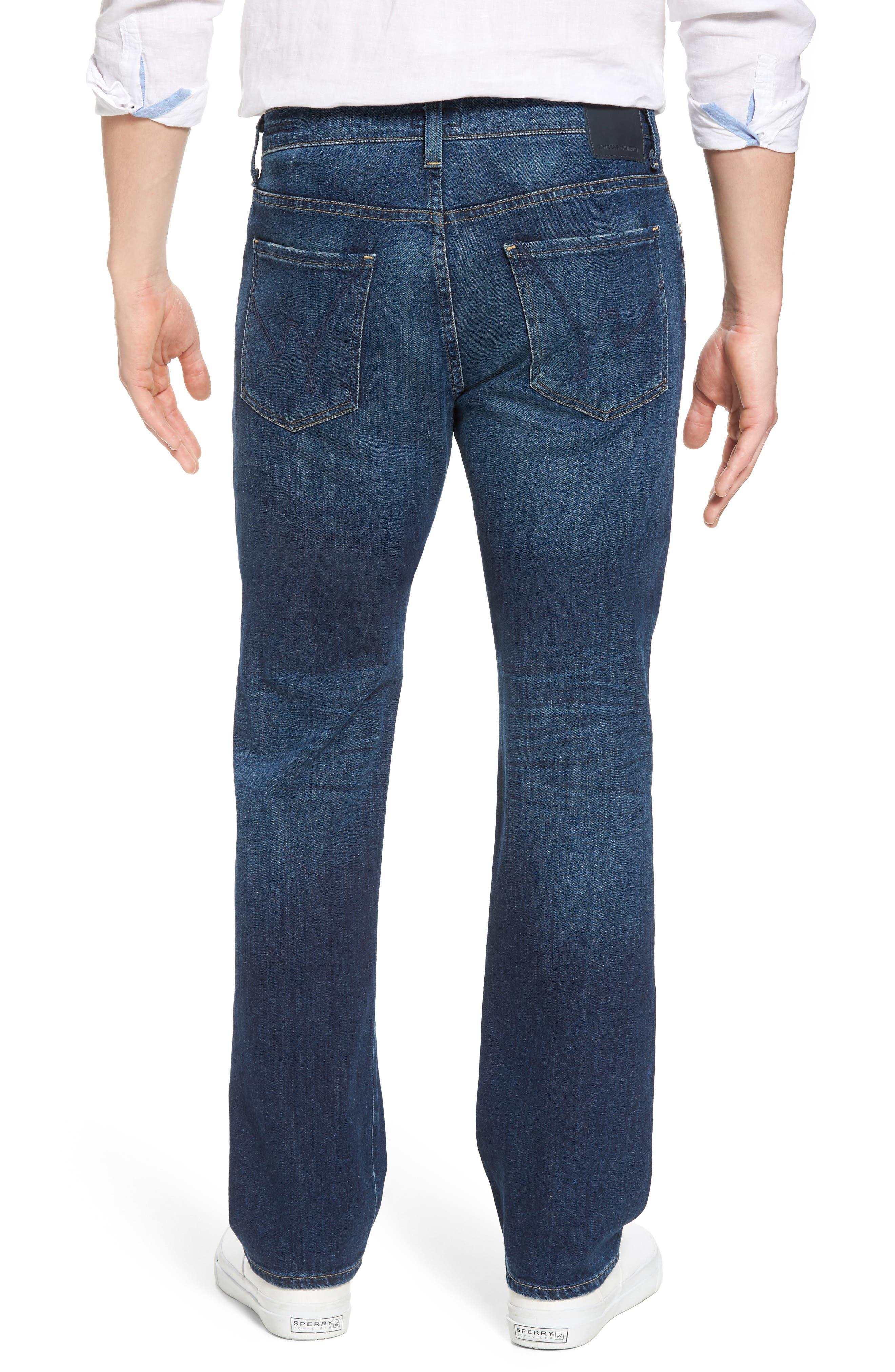 Sid Straight Leg Jeans,                             Alternate thumbnail 2, color,                             ADLER