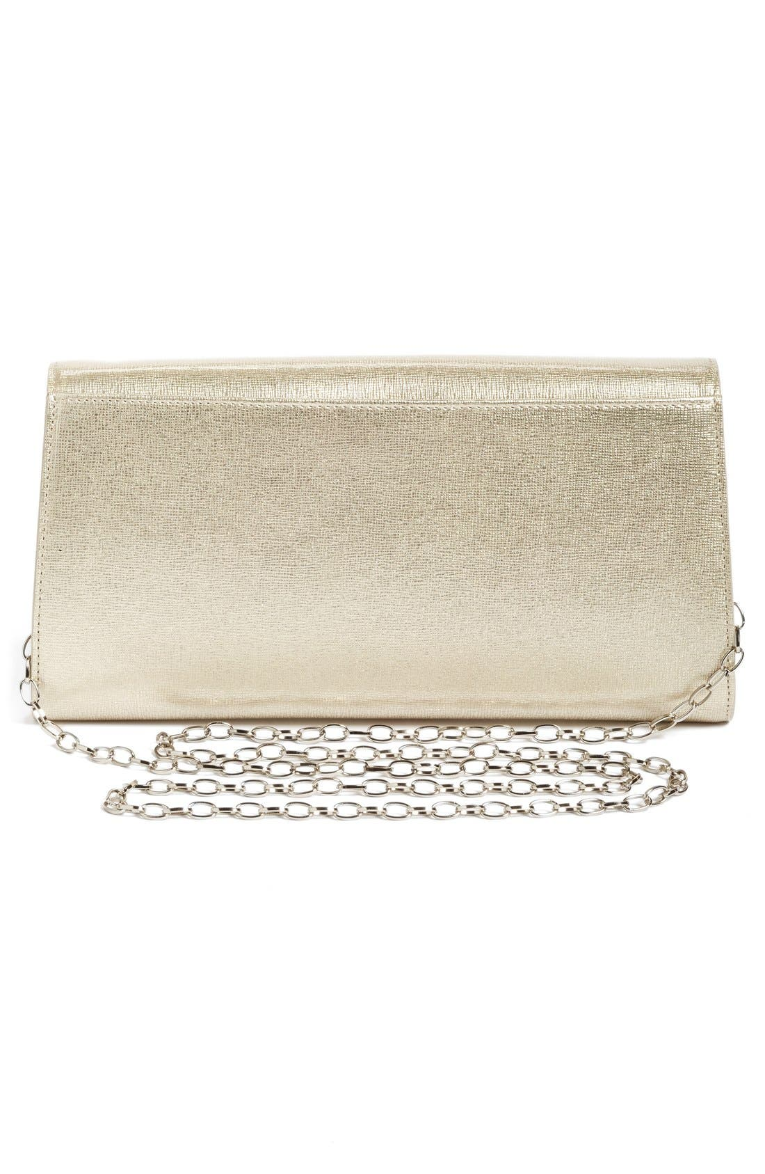 Leather Clutch,                             Alternate thumbnail 13, color,