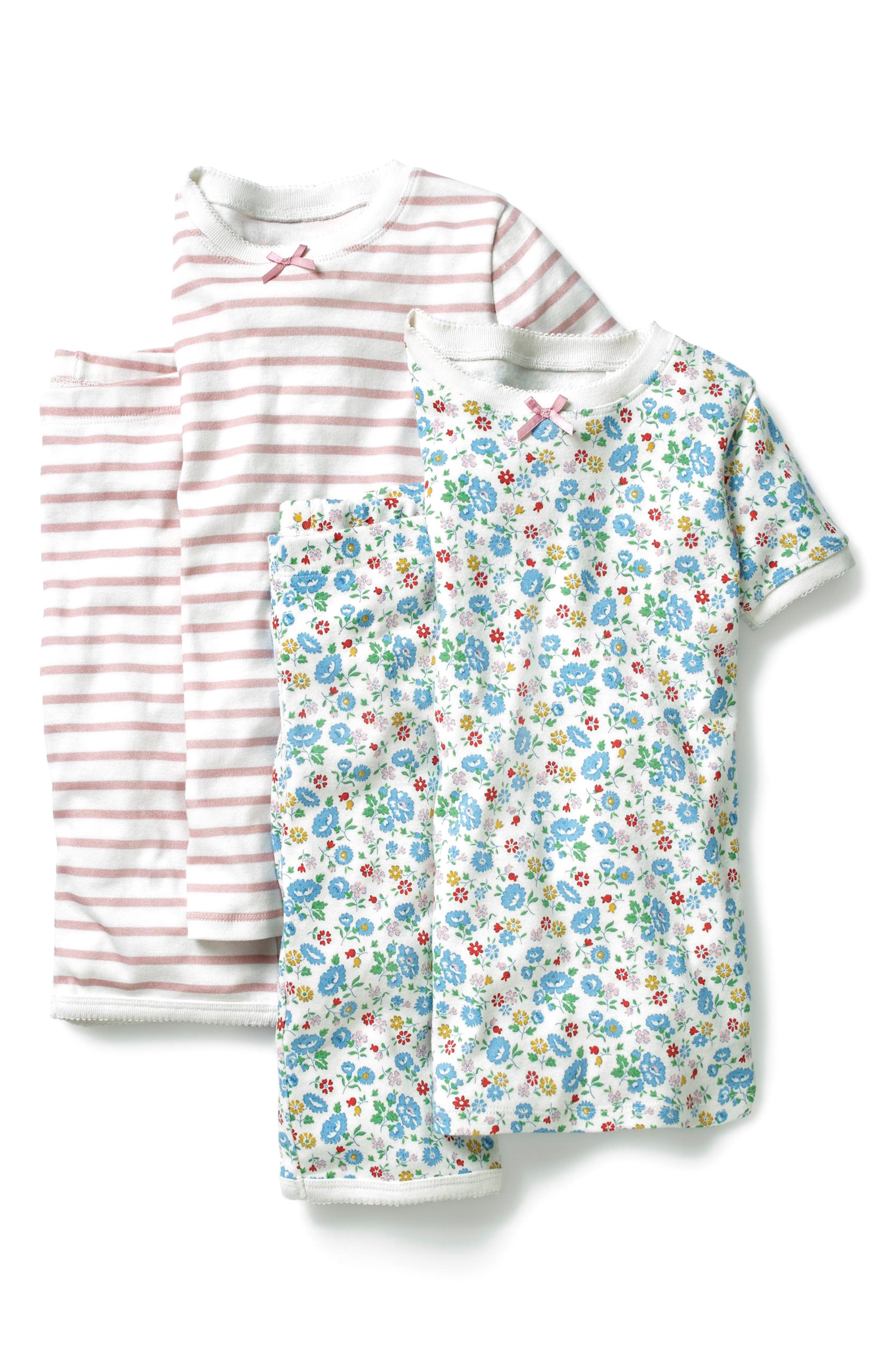 2-Pack Fitted Two-Piece Pajamas,                             Main thumbnail 2, color,