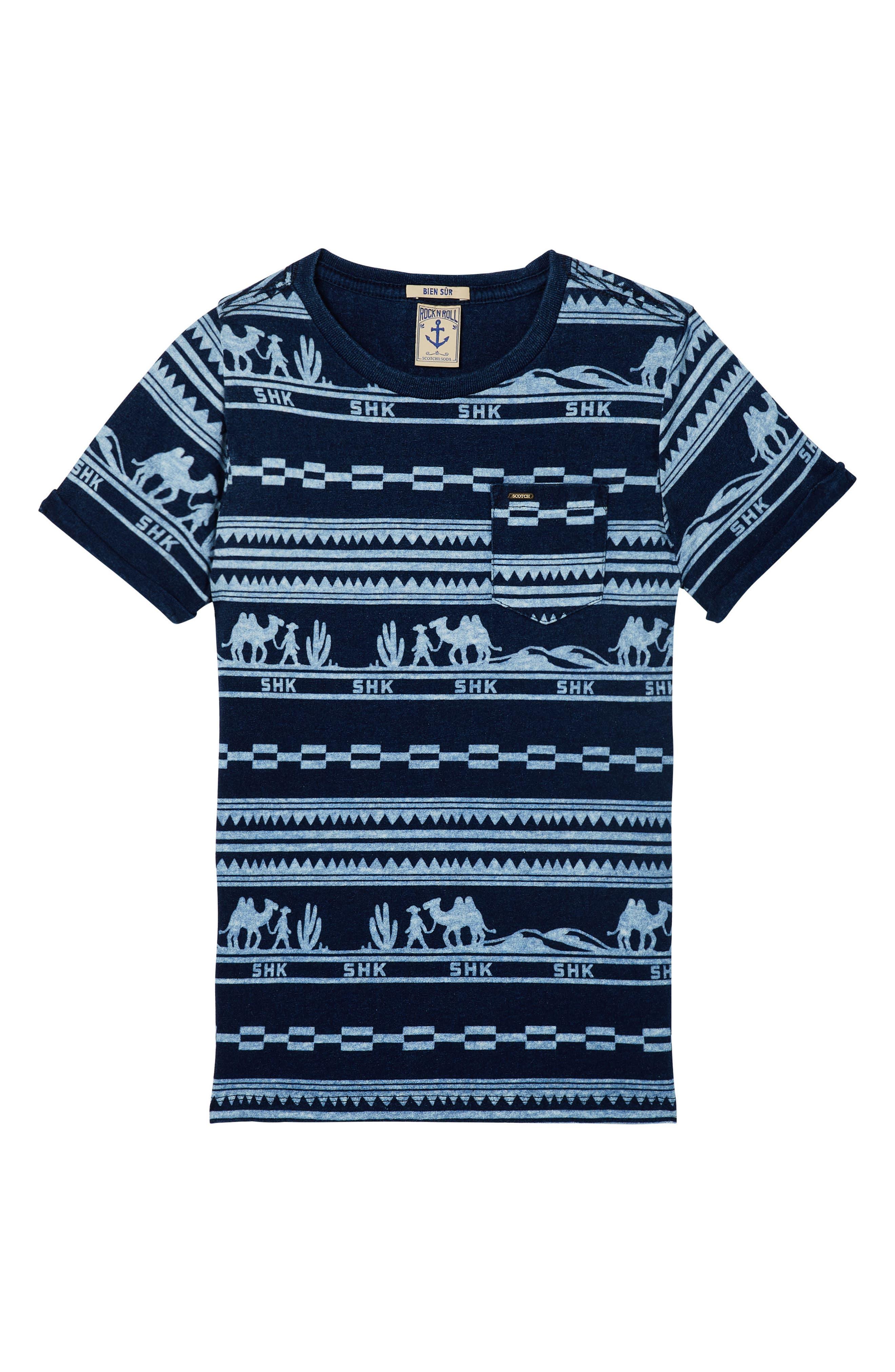 Print Shirt,                         Main,                         color, 400
