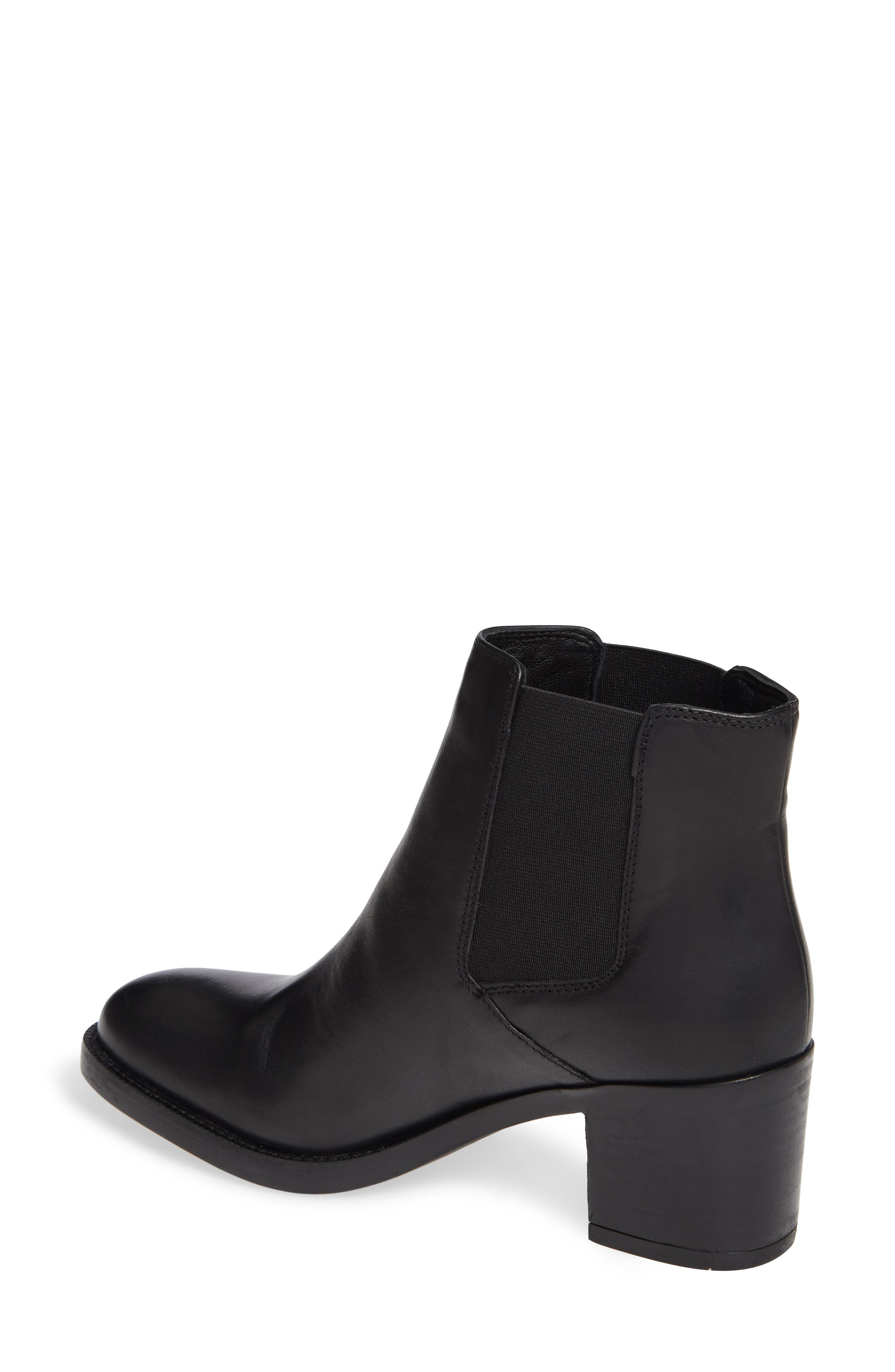 Mascarpone Bay Chelsea Boot,                             Alternate thumbnail 2, color,                             BLACK LEATHER