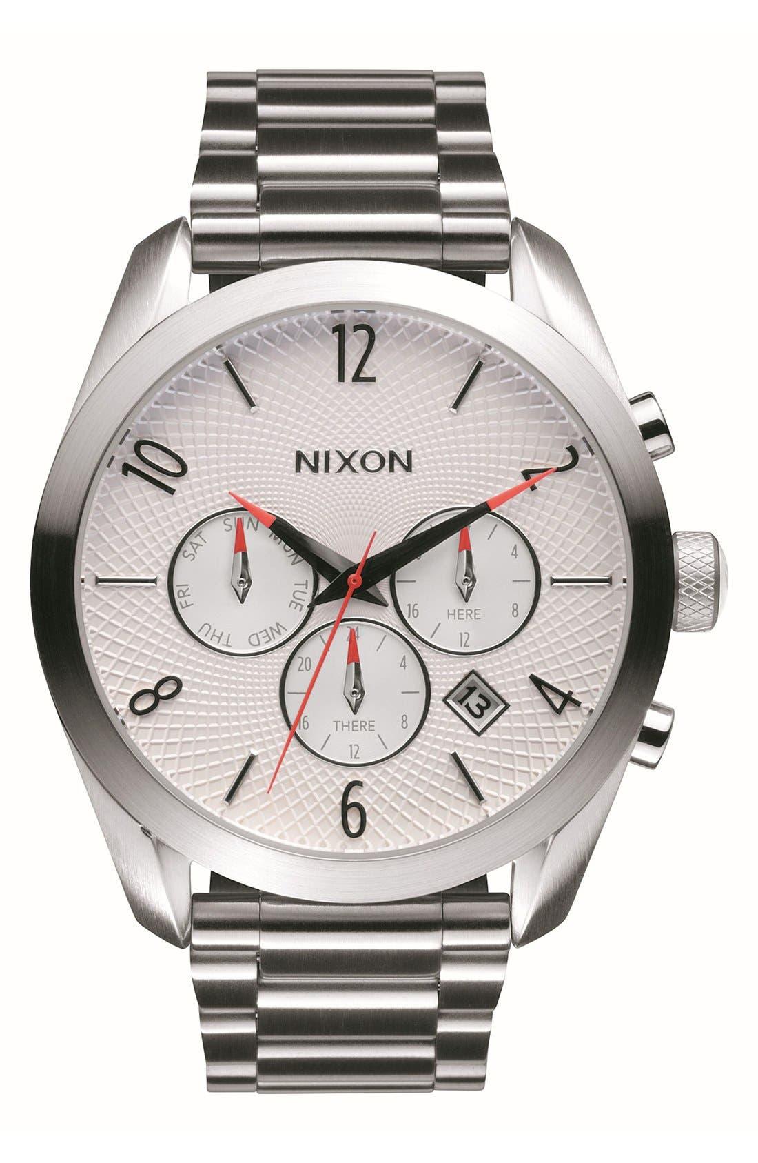 'Bullet' Guilloche Chronograph Bracelet Watch, 42mm,                             Main thumbnail 3, color,