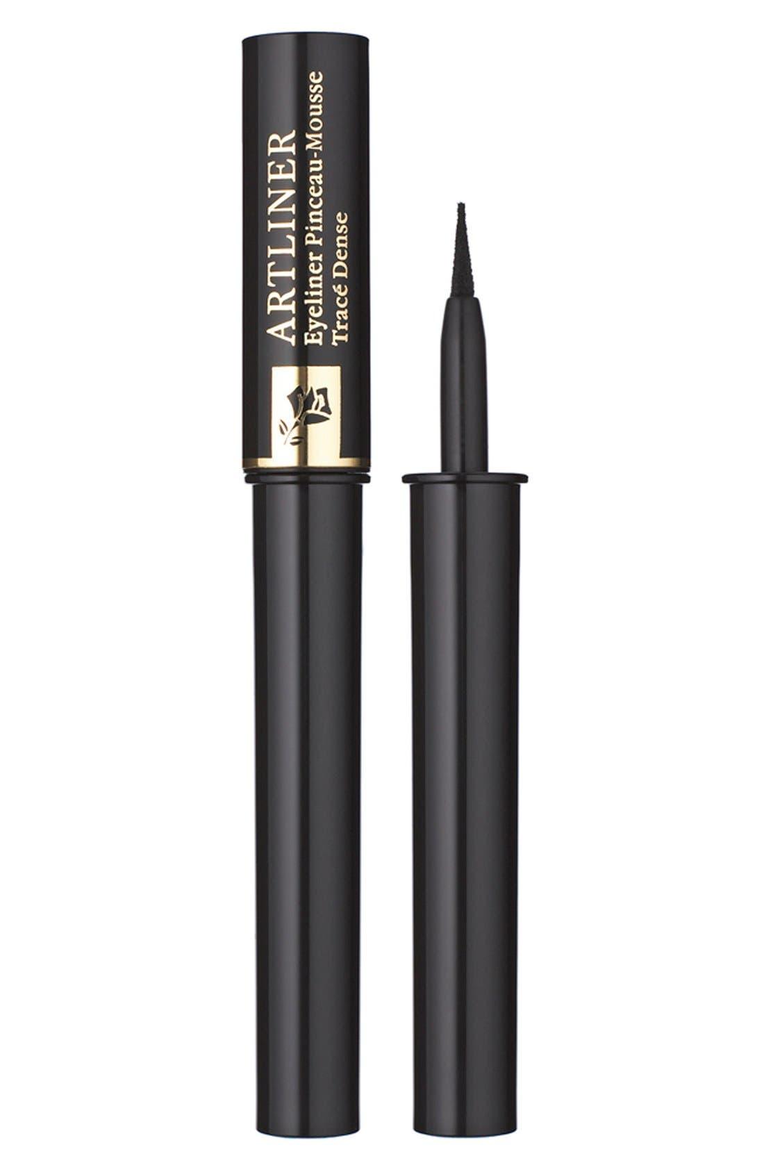 LANCÔME,                             Artliner Precision Point Liquid Eyeliner,                             Main thumbnail 1, color,                             NOIR