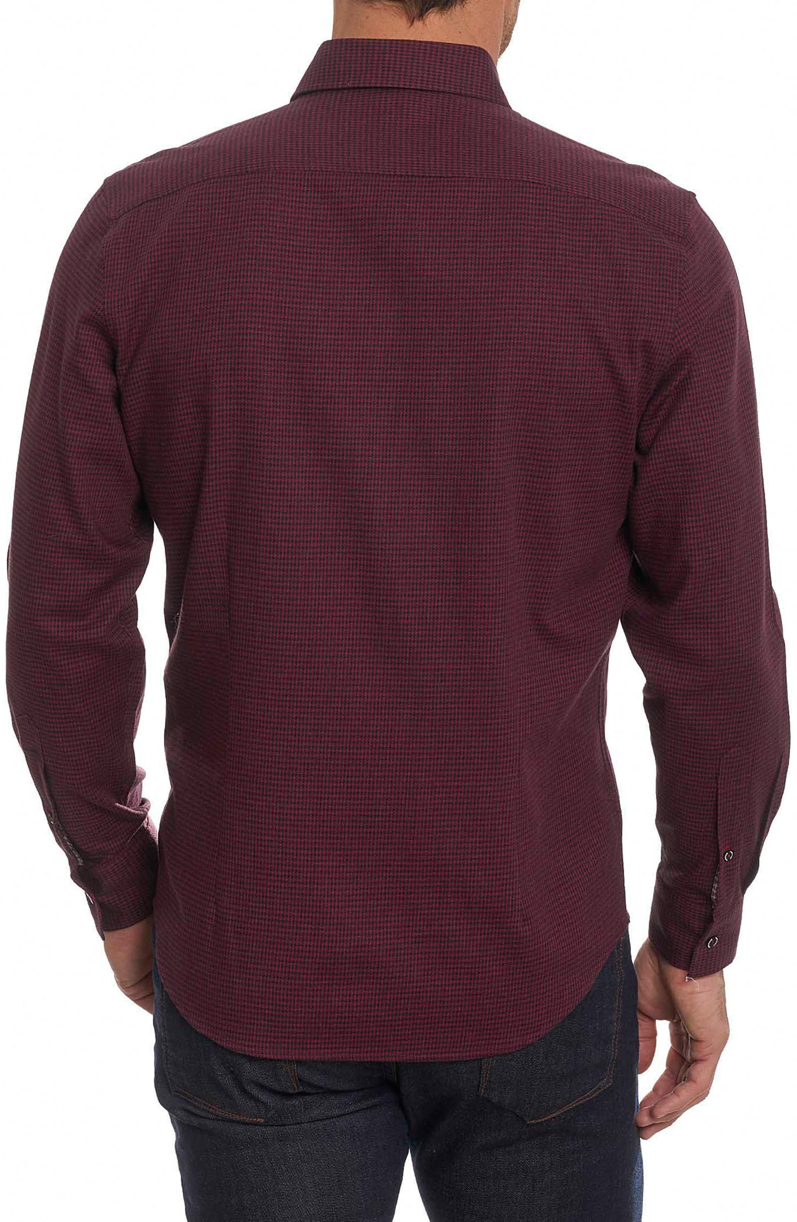 Colin Tailored Fit Sport Shirt,                             Alternate thumbnail 4, color,