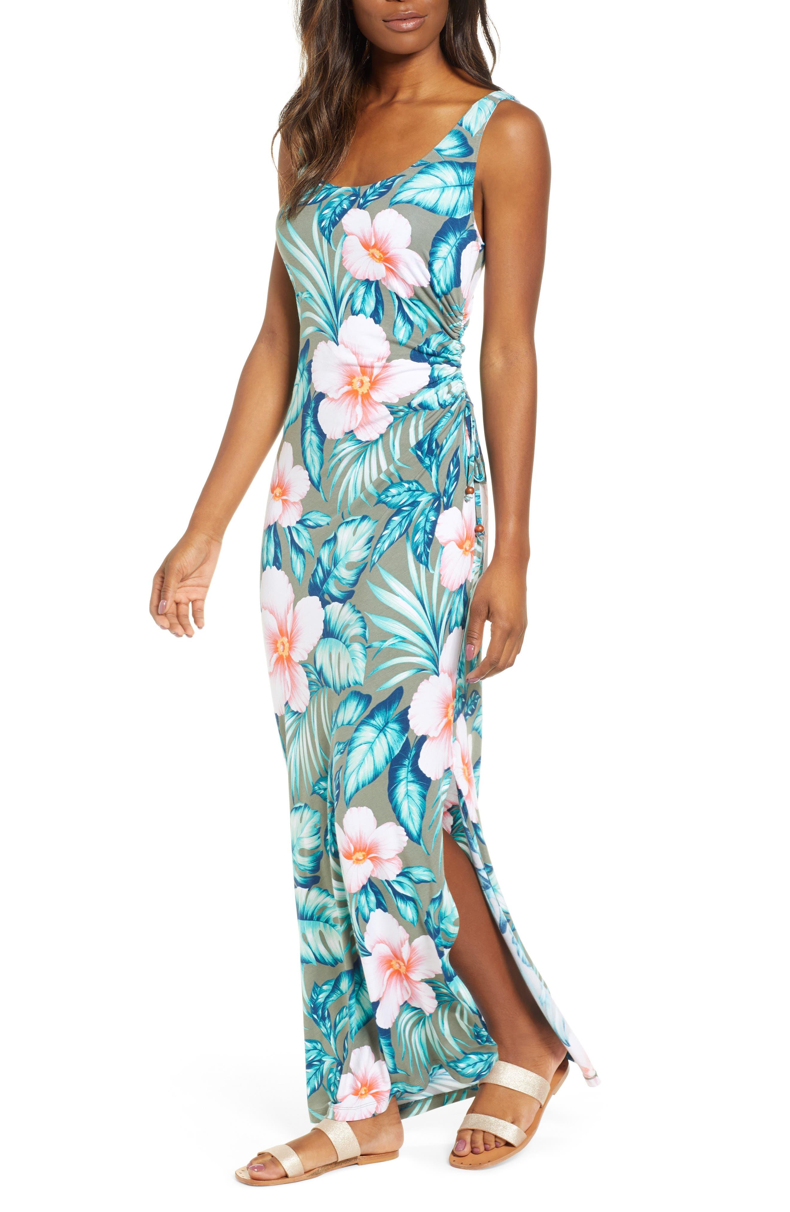 Tommy Bahama Flora Bora Maxi Dress, Green