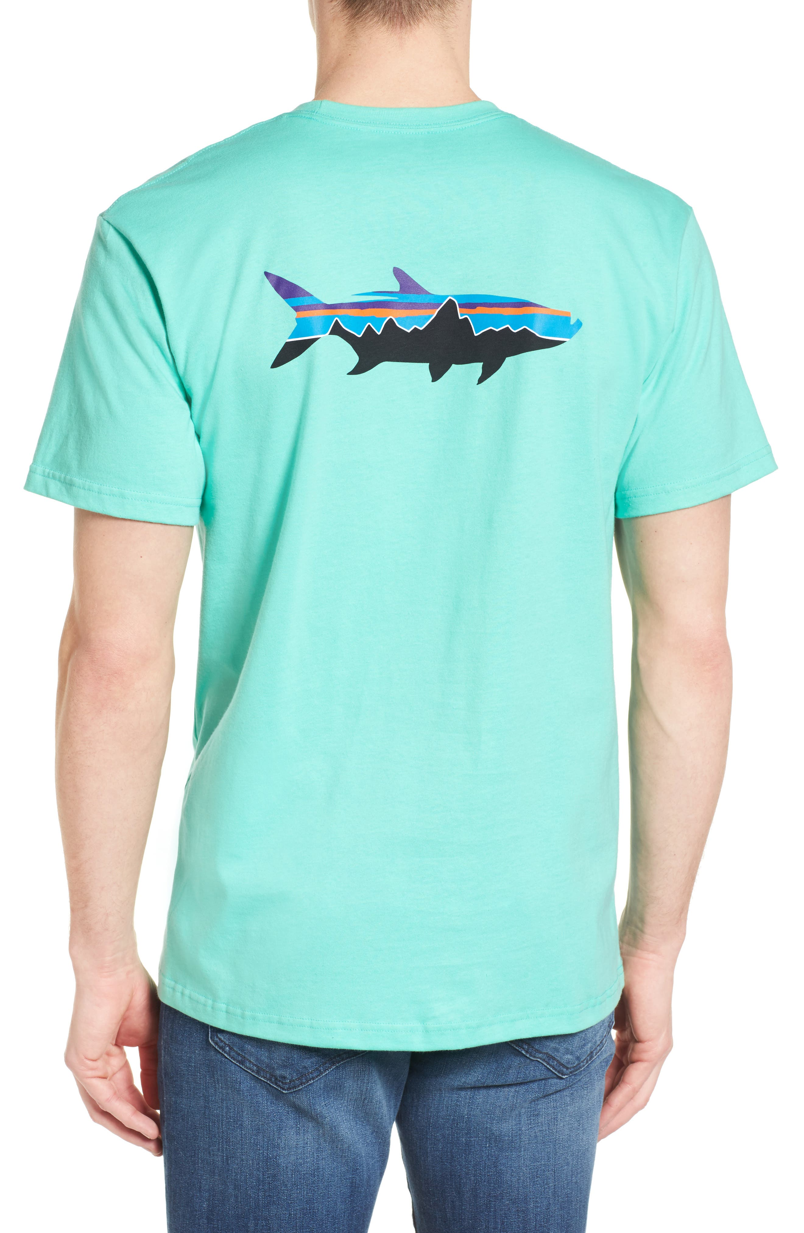 Fitz Roy Tarpon Regular Fit T-Shirt,                             Alternate thumbnail 4, color,