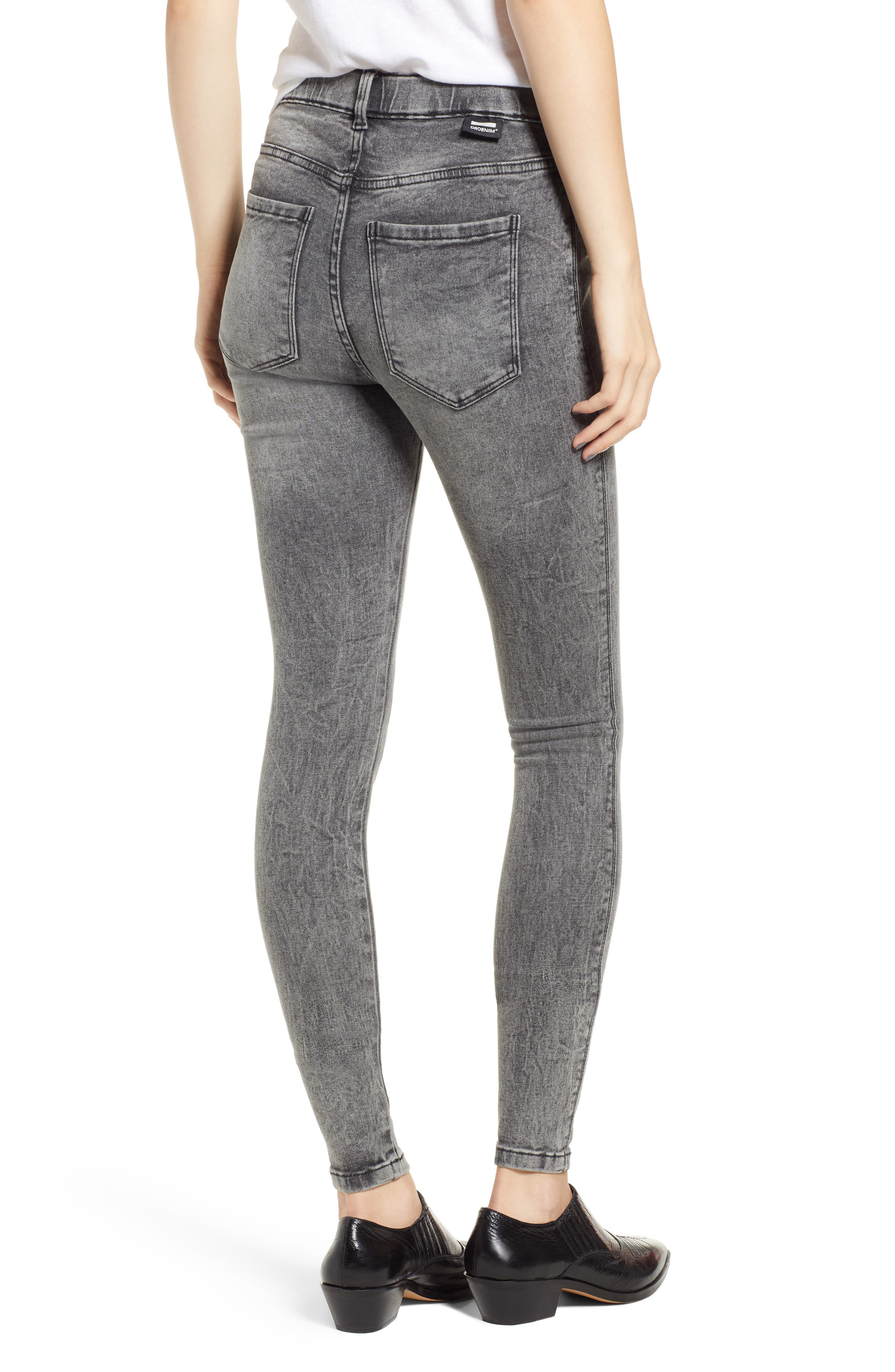 Lexy Skinny Jeans,                             Alternate thumbnail 2, color,                             BOULDER GREY