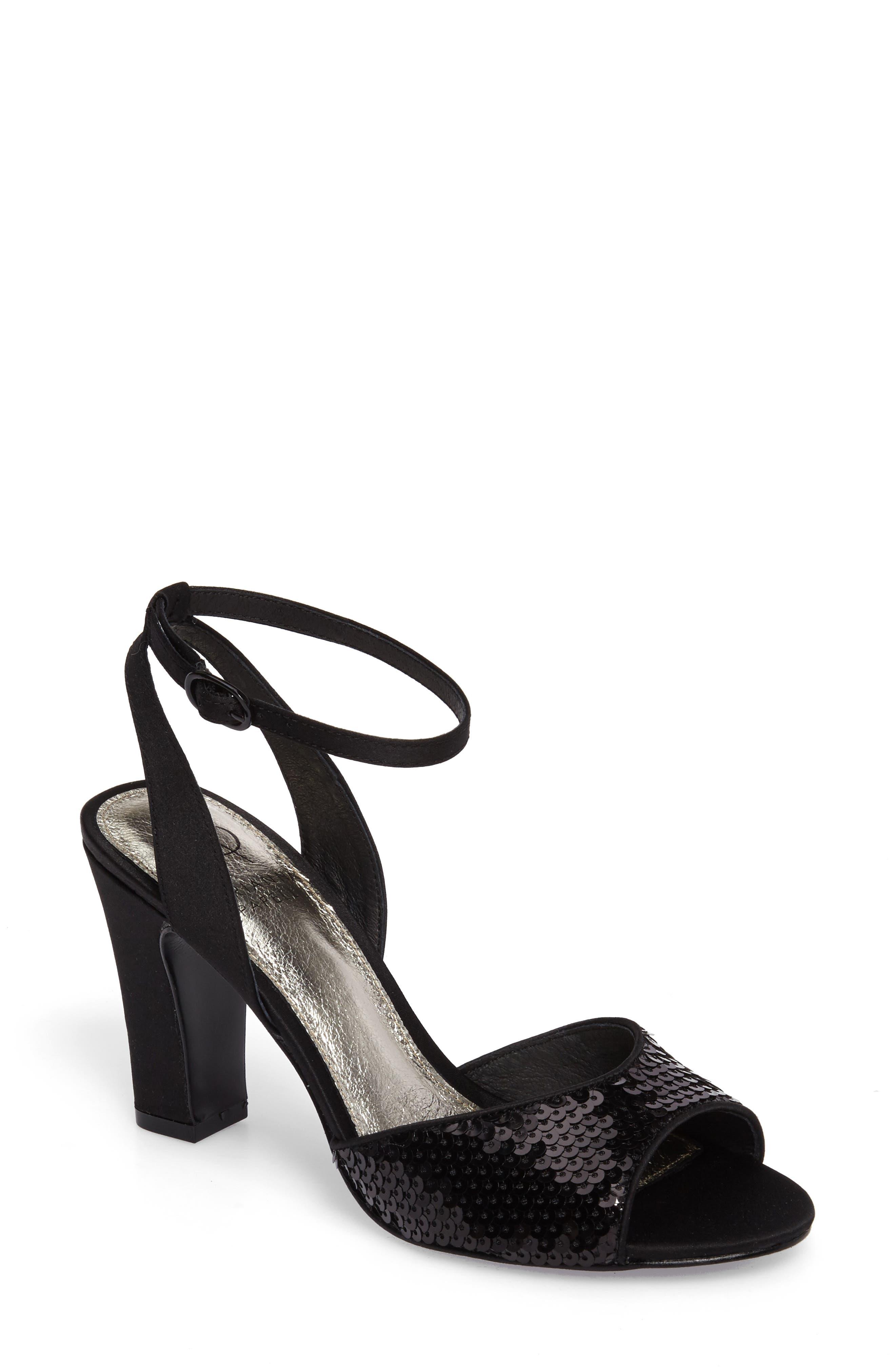 Astrid Ankle Strap Sandal,                         Main,                         color, 001