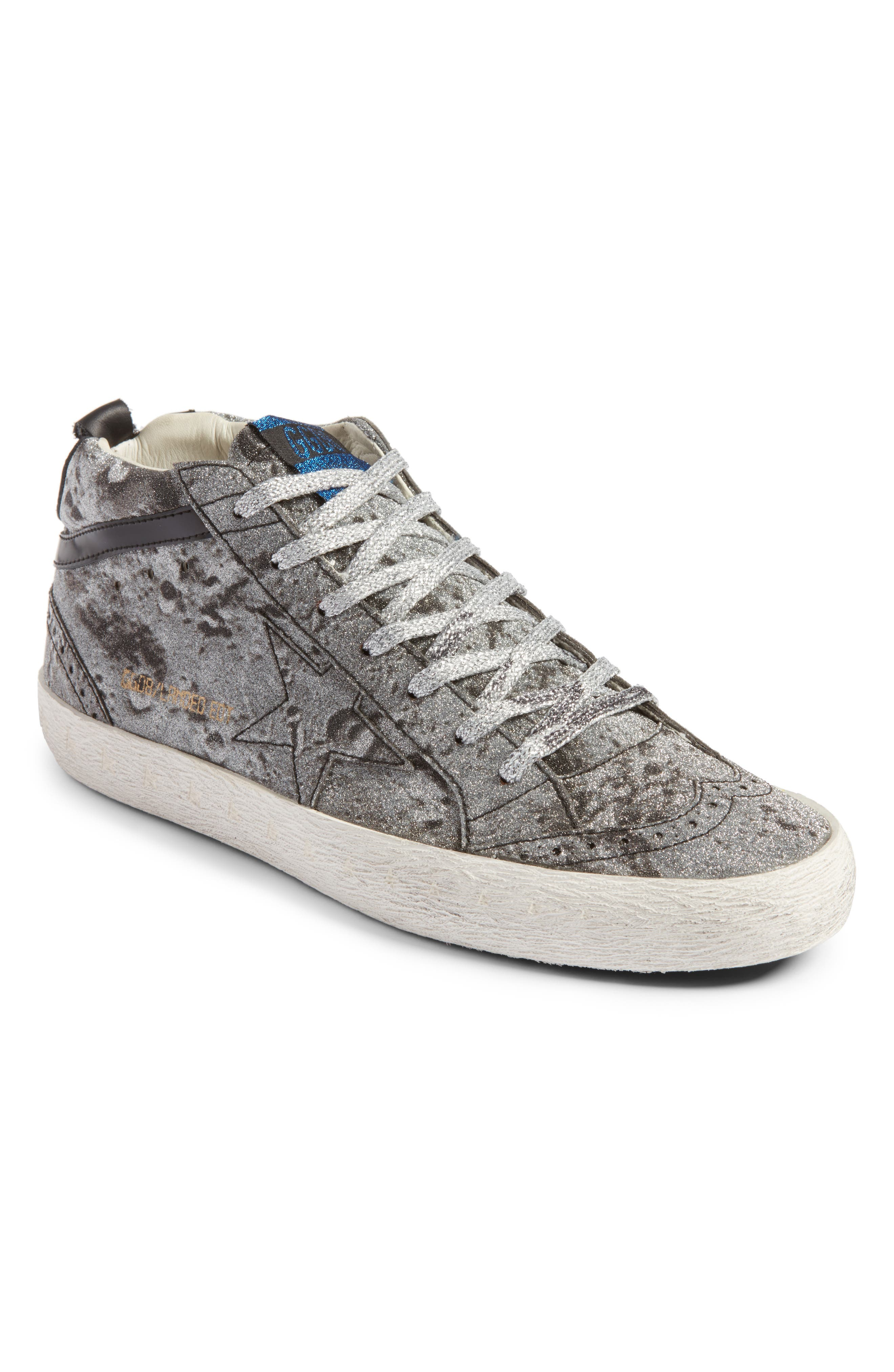 Mid Star Glitter Sneaker,                         Main,                         color, 040