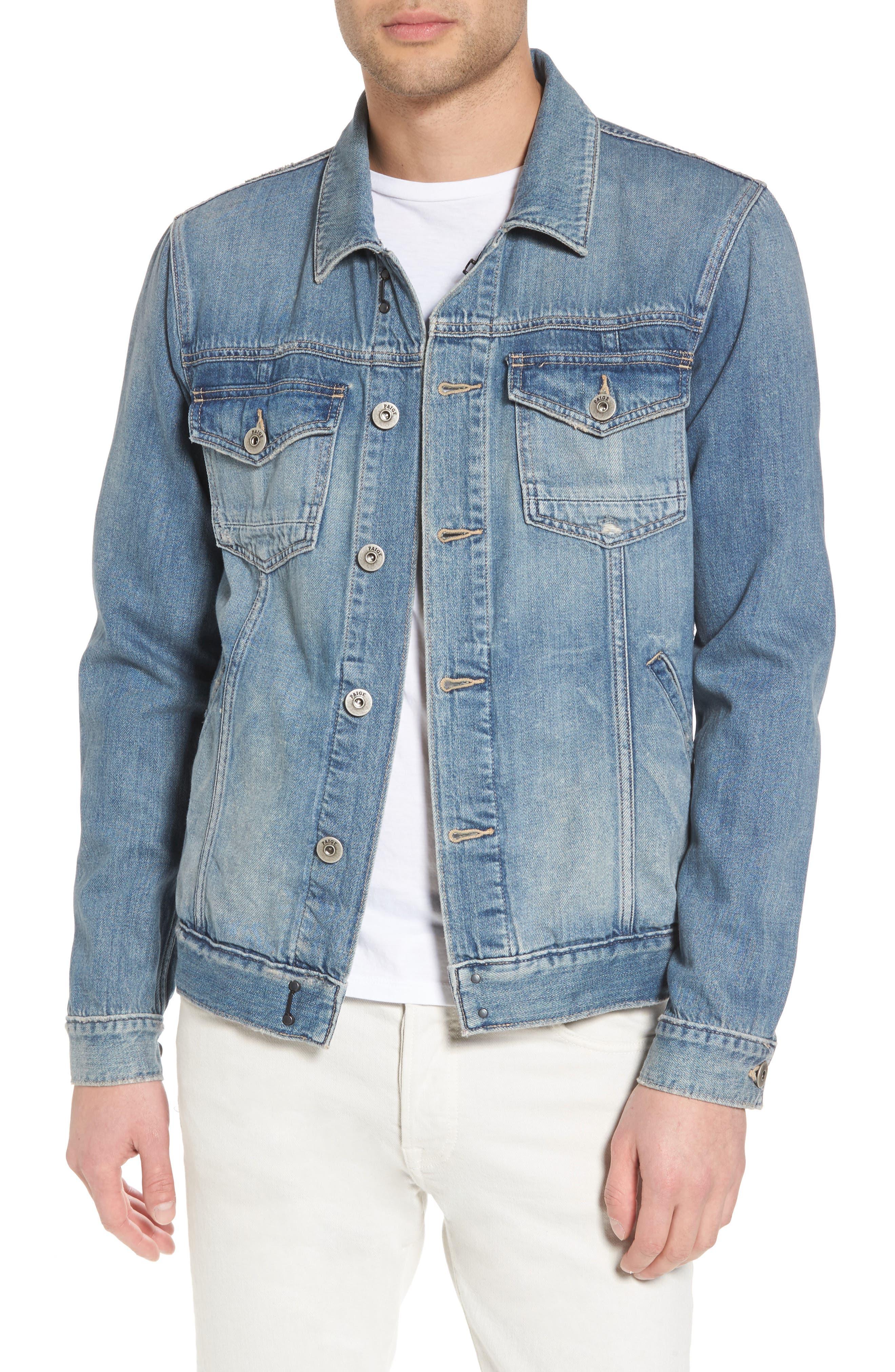 Scout Denim Jacket,                         Main,                         color, SIMON