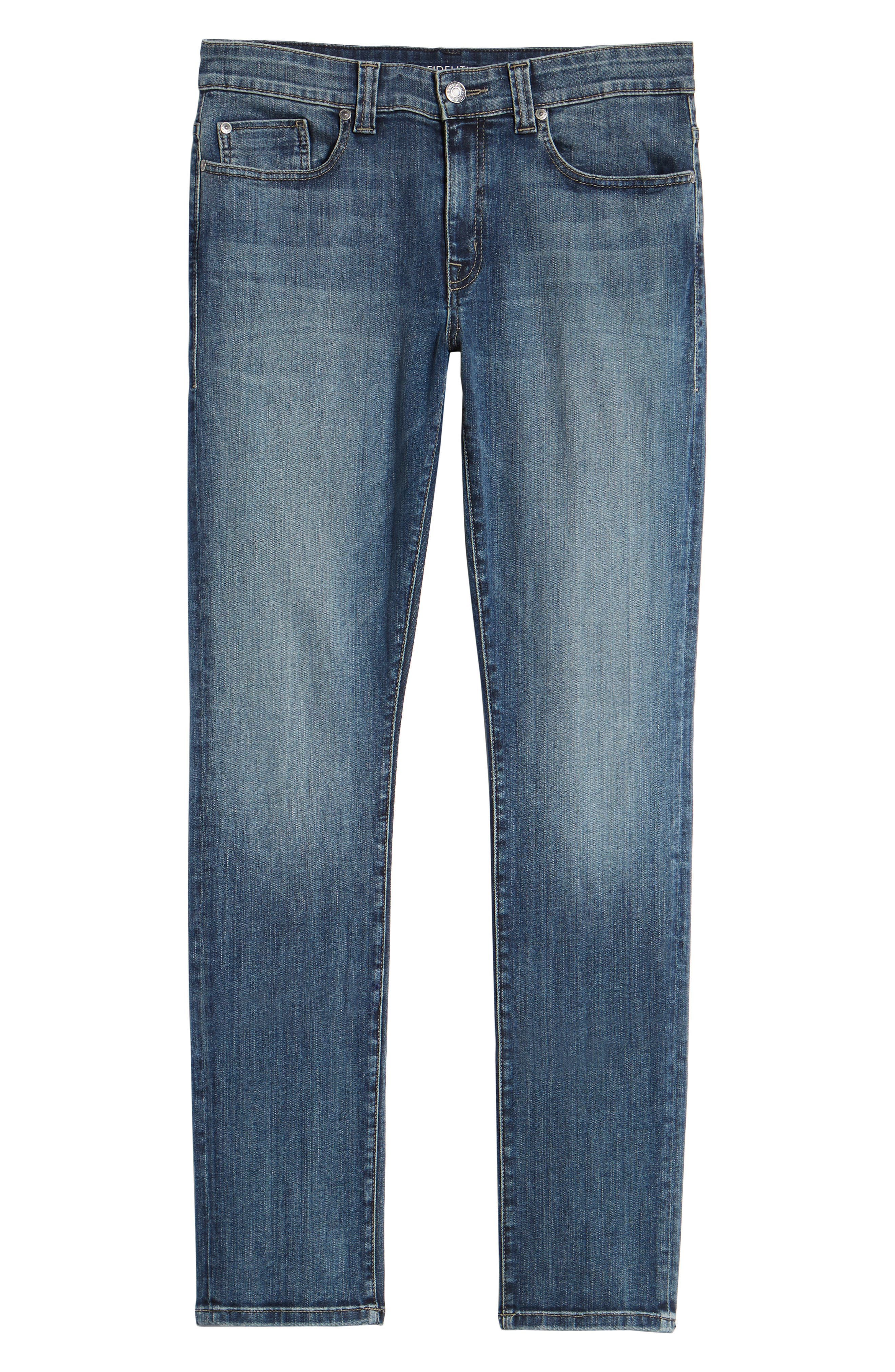 Jimmy Slim Straight Leg Jeans,                             Alternate thumbnail 6, color,                             CATHEDRAL